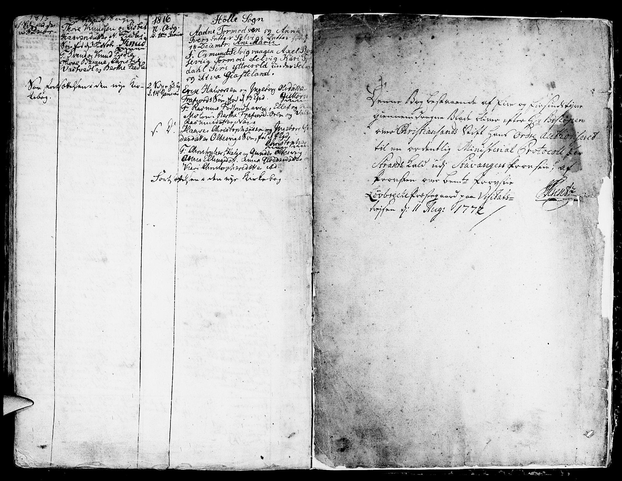 SAST, Strand sokneprestkontor, H/Ha/Haa/L0003: Ministerialbok nr. A 3, 1769-1816