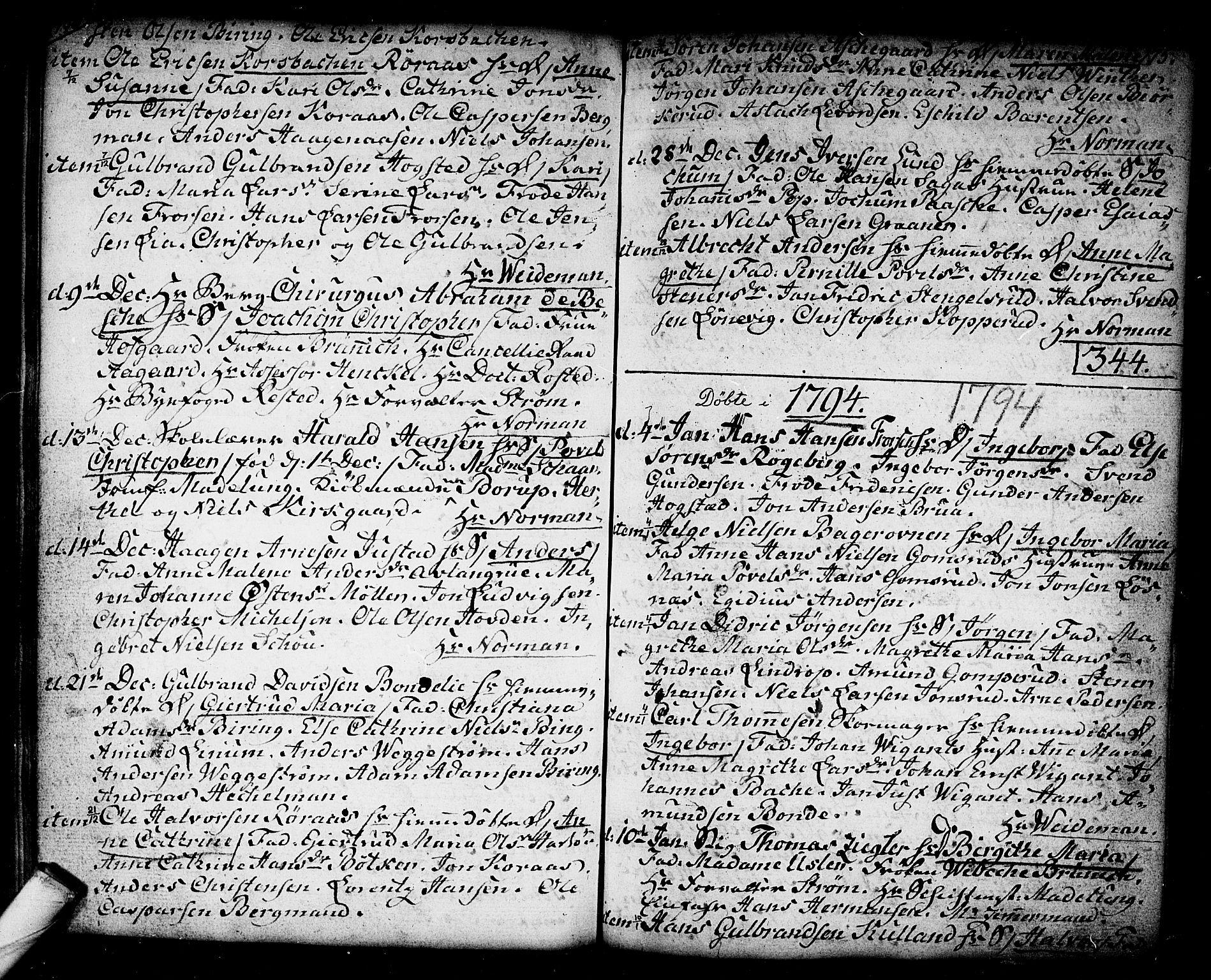 SAKO, Kongsberg kirkebøker, F/Fa/L0006: Ministerialbok nr. I 6, 1783-1797, s. 175