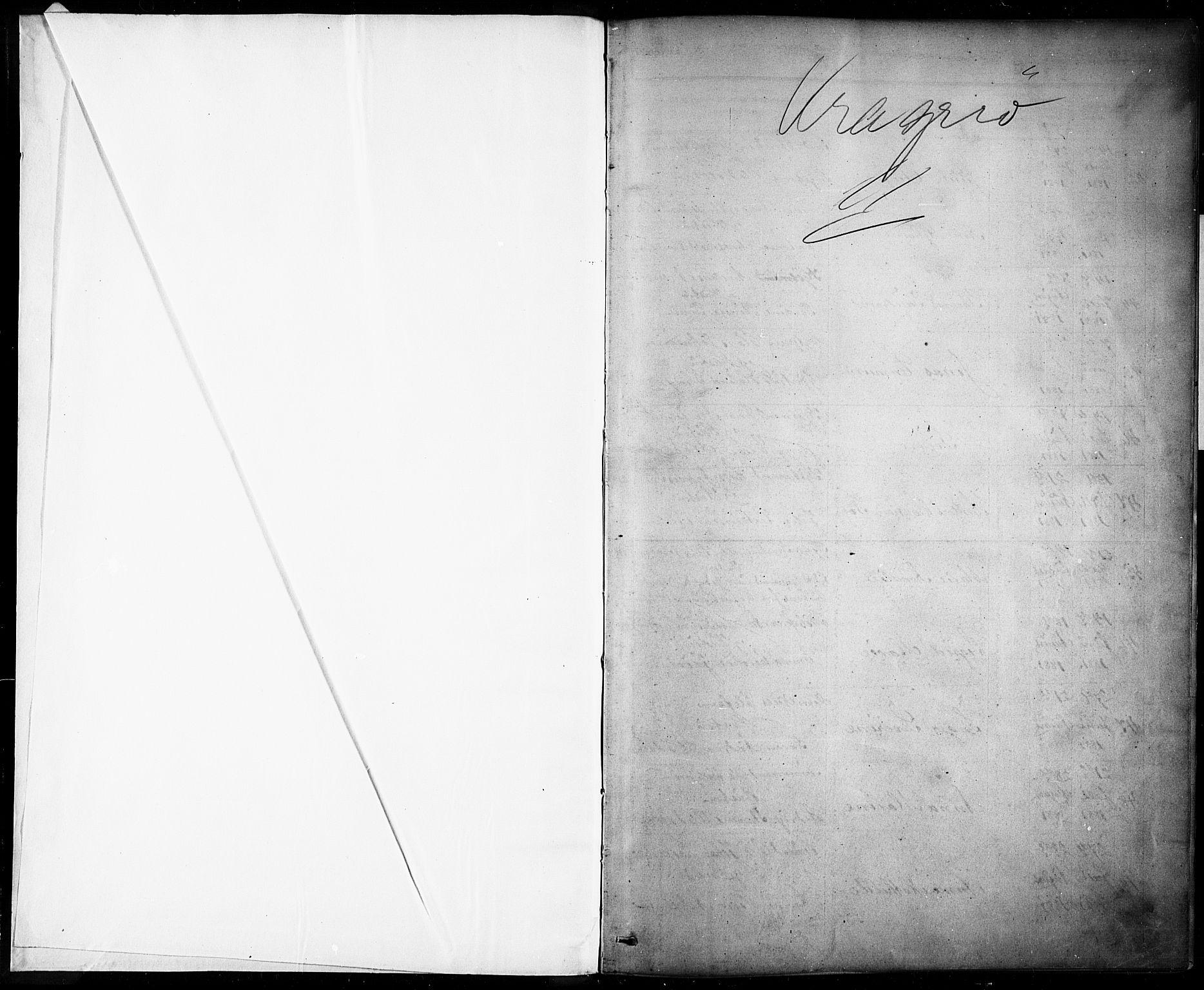 SAKO, Kragerø kirkebøker, G/Ga/L0007: Klokkerbok nr. 7, 1881-1927