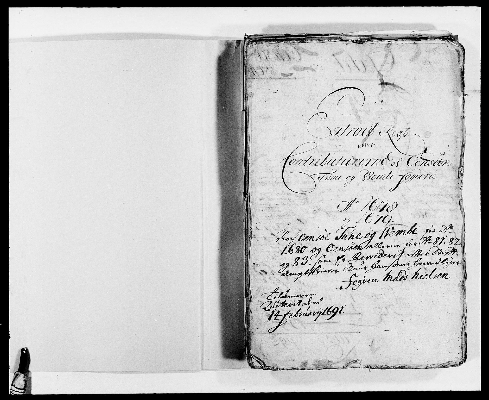 RA, Rentekammeret inntil 1814, Reviderte regnskaper, Fogderegnskap, R03/L0113: Fogderegnskap Onsøy, Tune, Veme og Åbygge fogderi, 1681-1683, s. 2