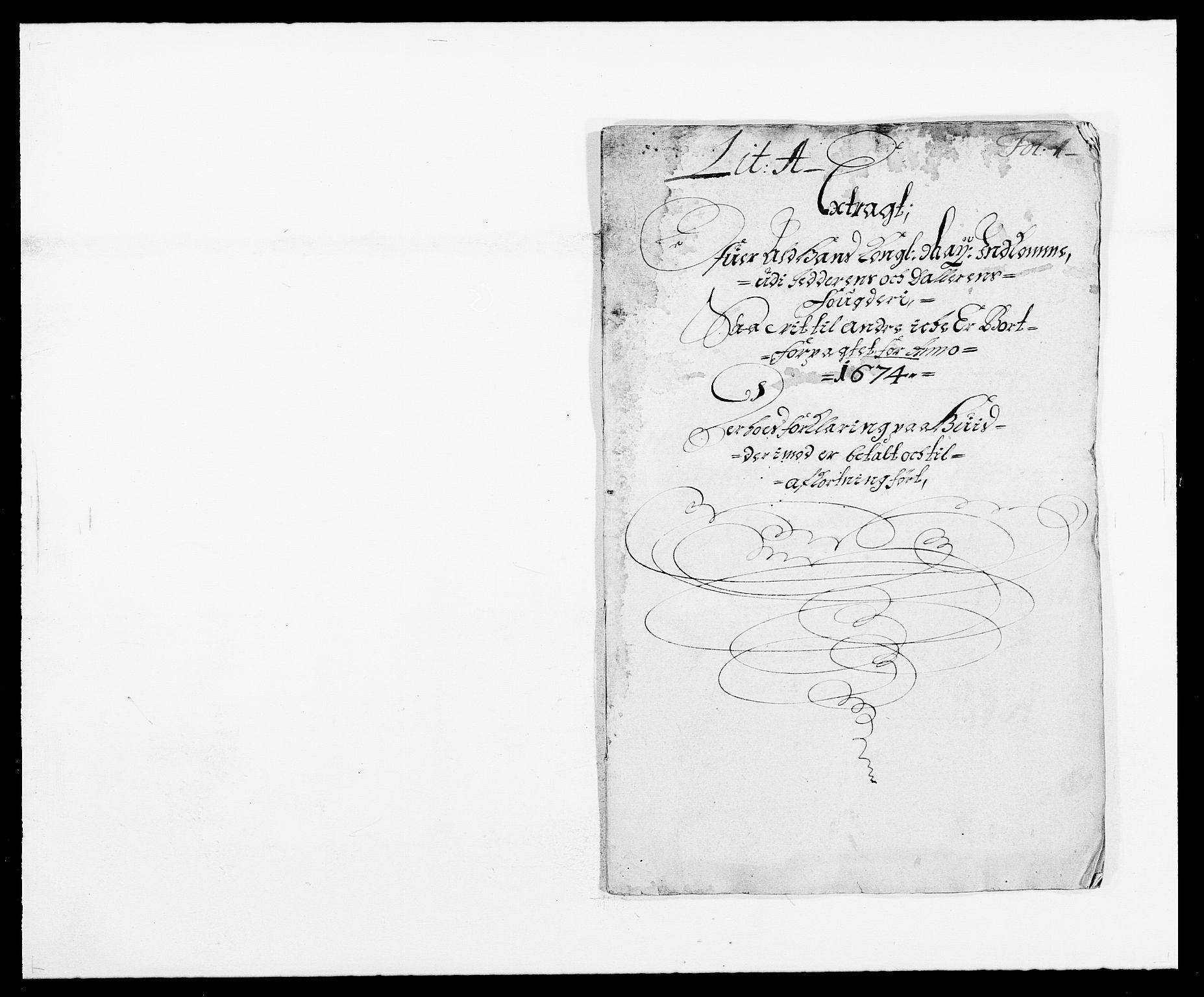 RA, Rentekammeret inntil 1814, Reviderte regnskaper, Fogderegnskap, R46/L2714: Fogderegnskap Jæren og Dalane, 1673-1674, s. 193