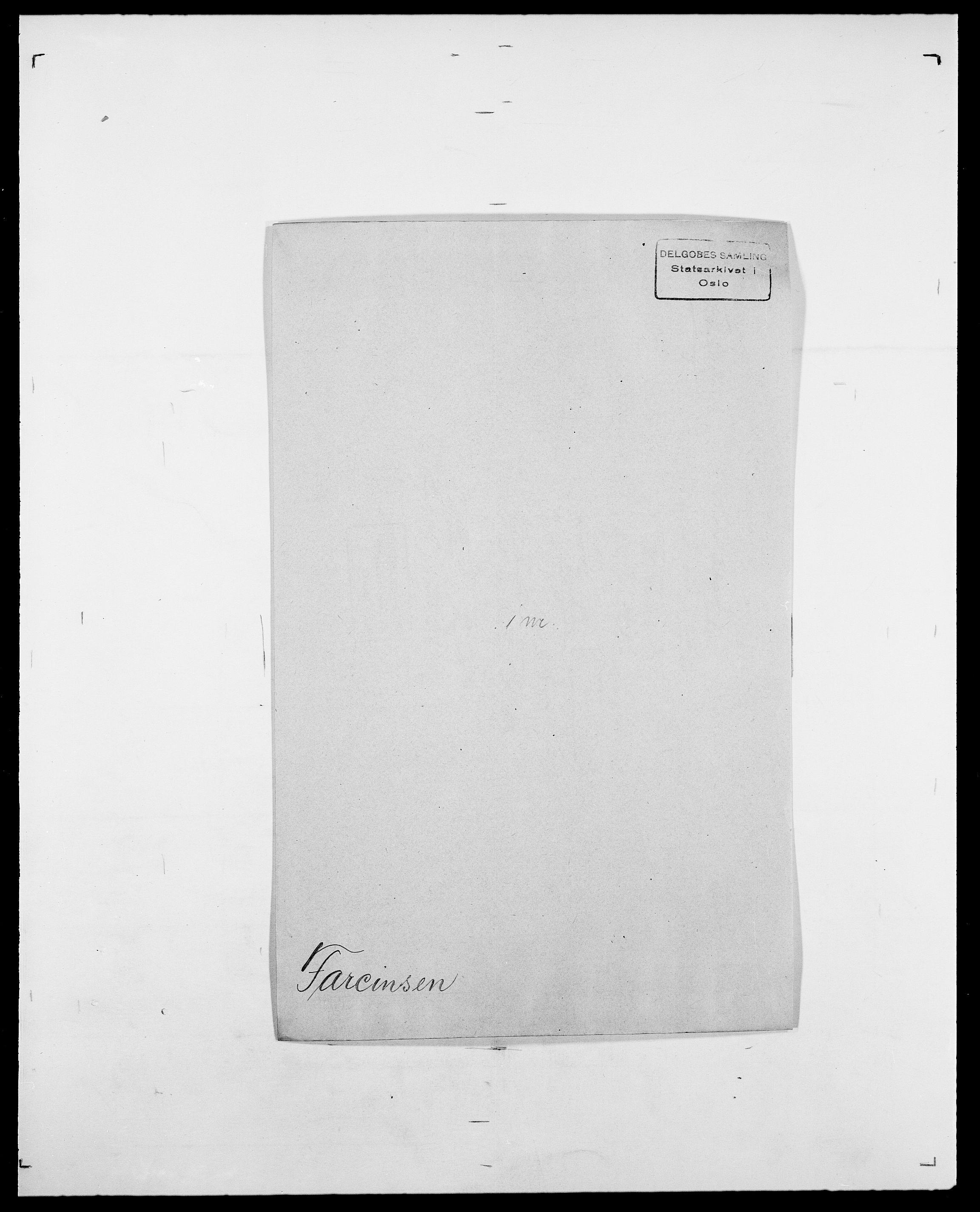 SAO, Delgobe, Charles Antoine - samling, D/Da/L0011: Fahlander - Flood, Flod, s. 179