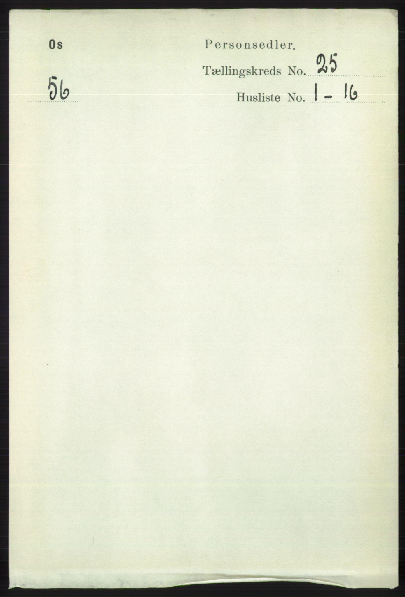 RA, Folketelling 1891 for 1243 Os herred, 1891, s. 5348