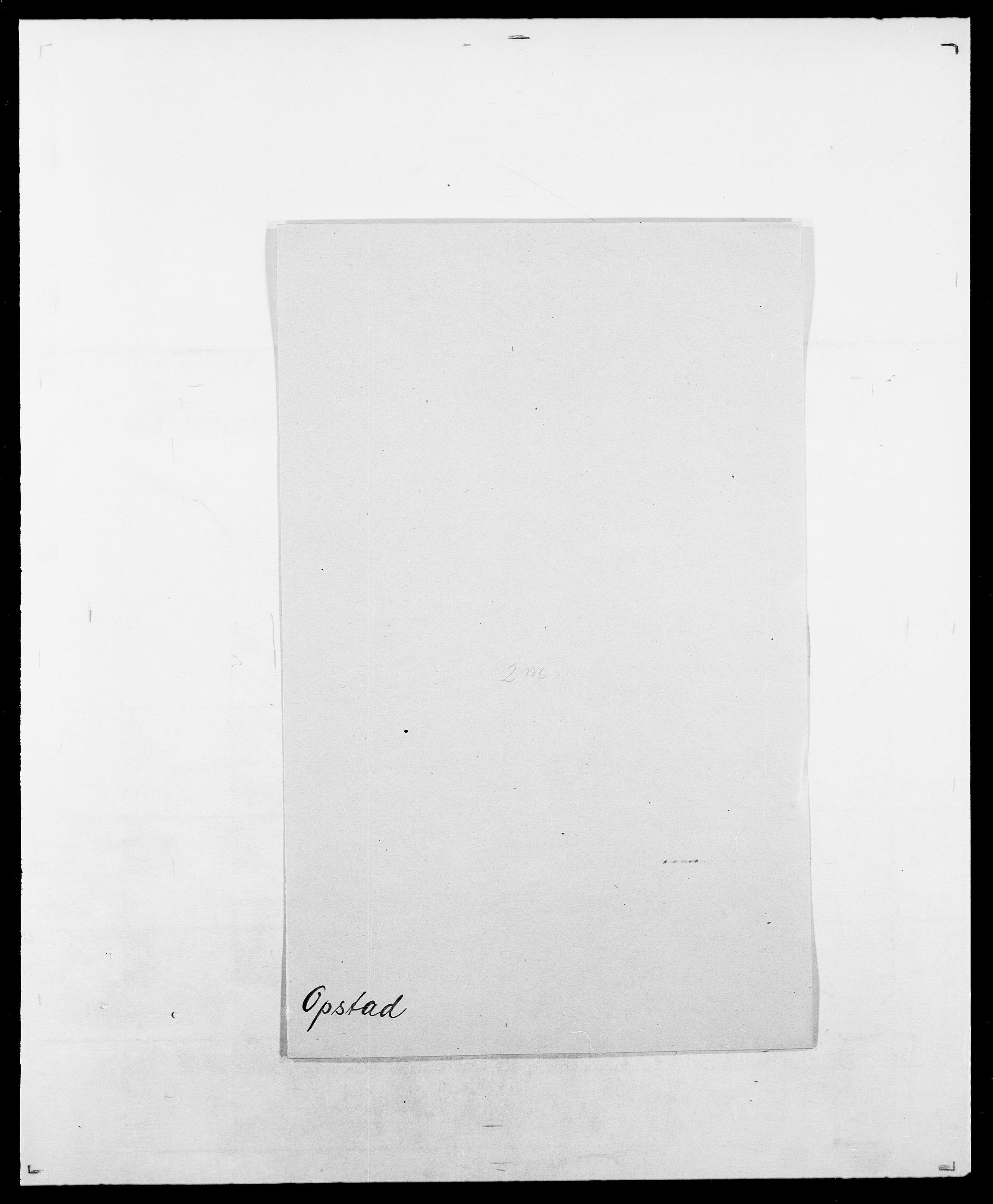 SAO, Delgobe, Charles Antoine - samling, D/Da/L0029: Obel - Oxholm, s. 394