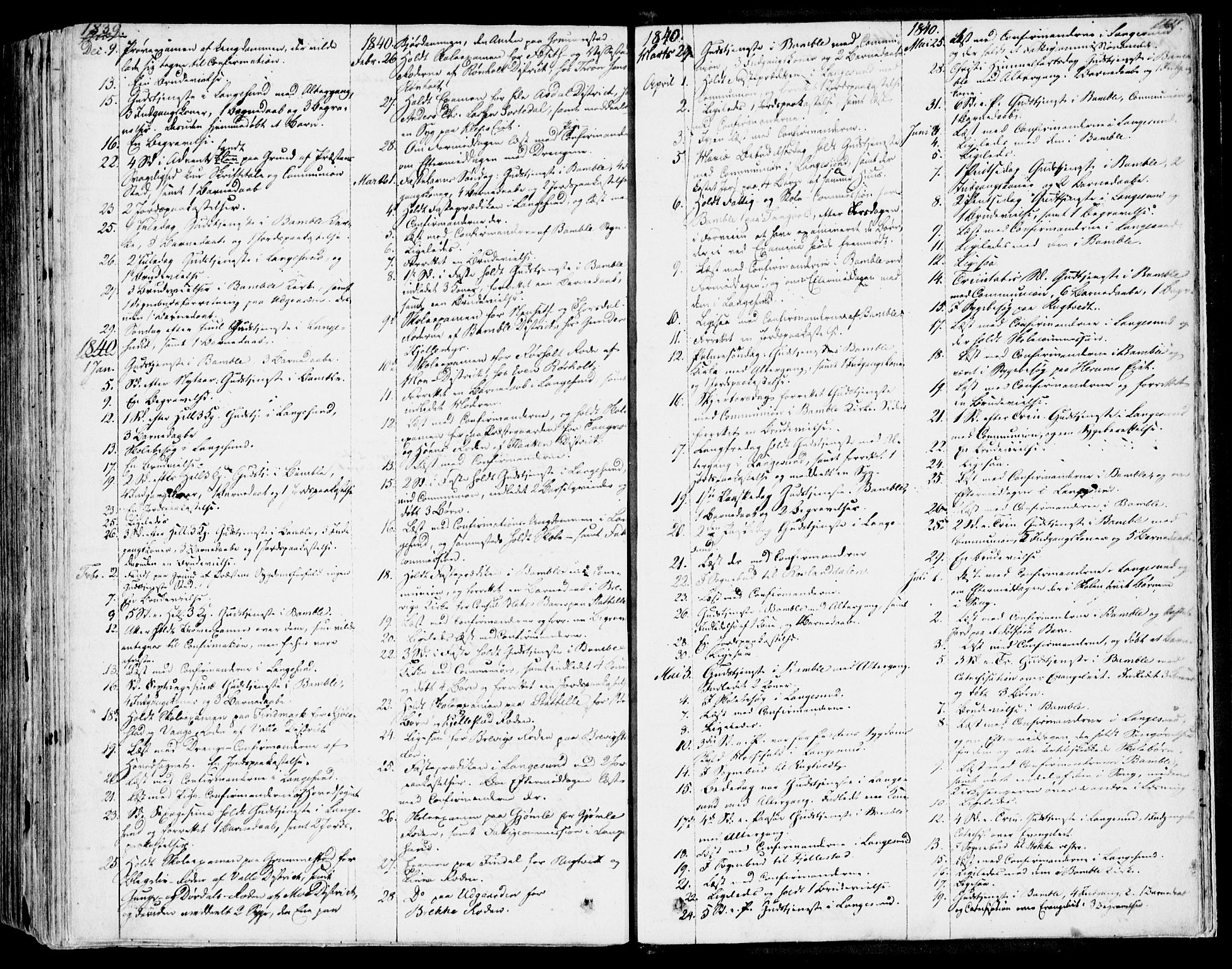 SAKO, Bamble kirkebøker, F/Fa/L0004: Ministerialbok nr. I 4, 1834-1853, s. 1110-1111