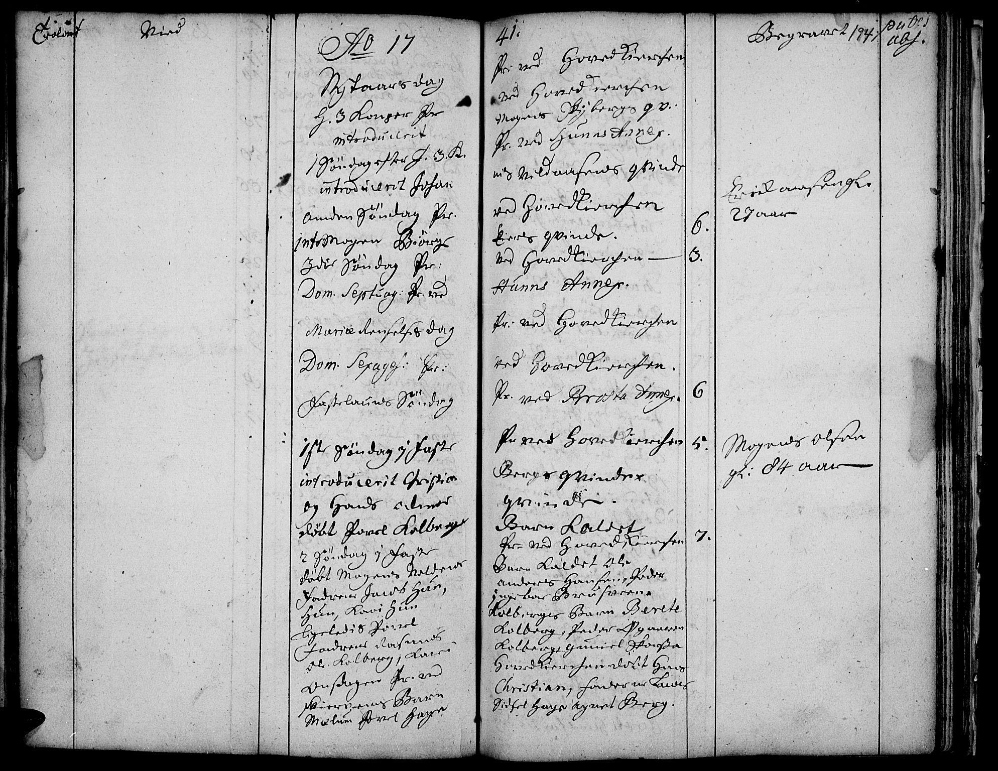 SAH, Vardal prestekontor, H/Ha/Haa/L0001: Ministerialbok nr. 1, 1706-1748, s. 194