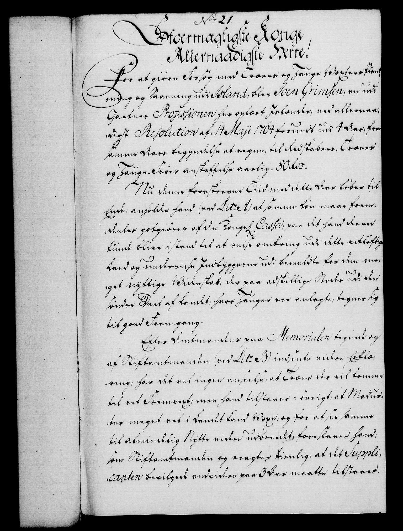 RA, Rentekammeret, Kammerkanselliet, G/Gf/Gfa/L0049: Norsk relasjons- og resolusjonsprotokoll (merket RK 52.49), 1767, s. 99