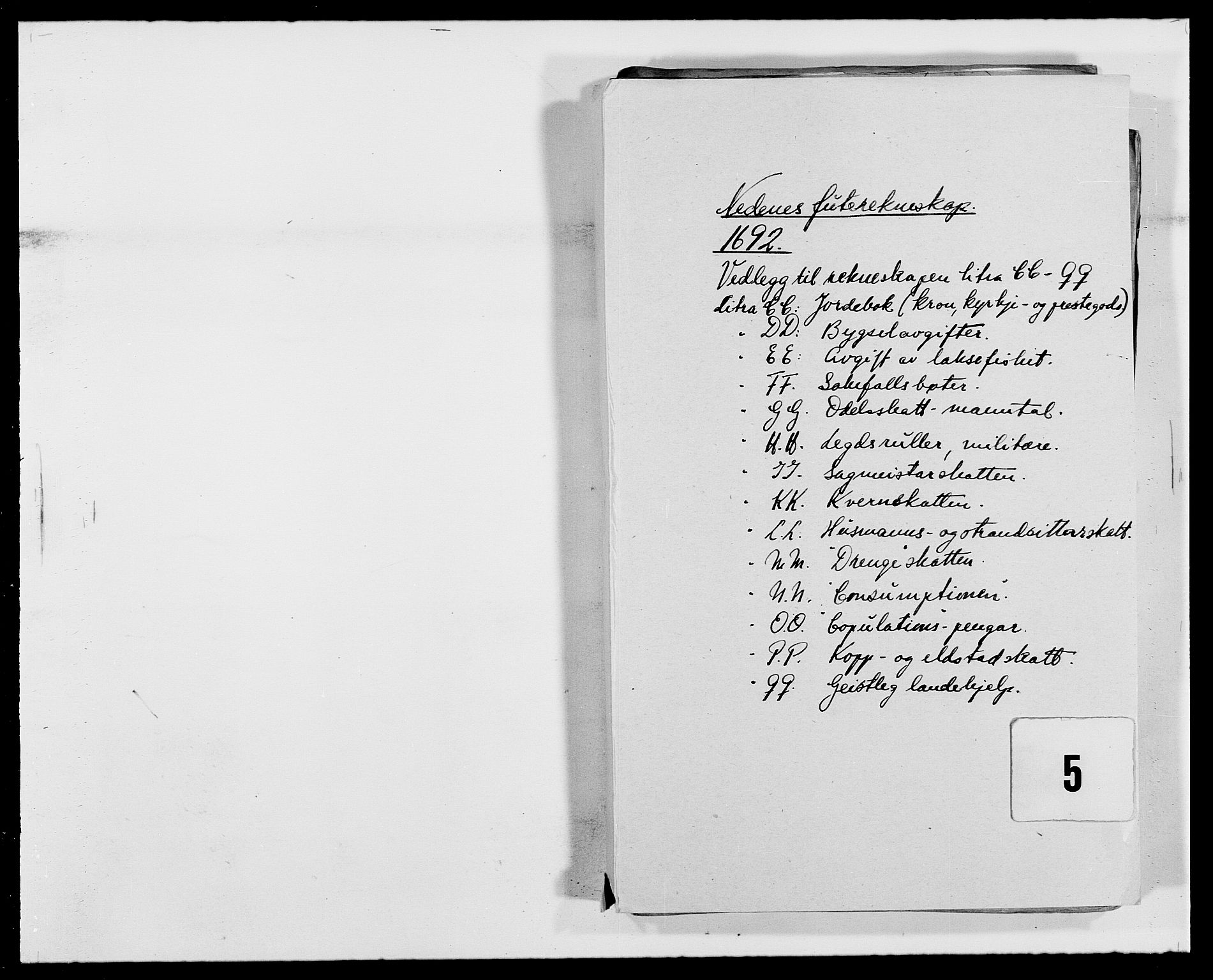 RA, Rentekammeret inntil 1814, Reviderte regnskaper, Fogderegnskap, R39/L2311: Fogderegnskap Nedenes, 1690-1692, s. 146