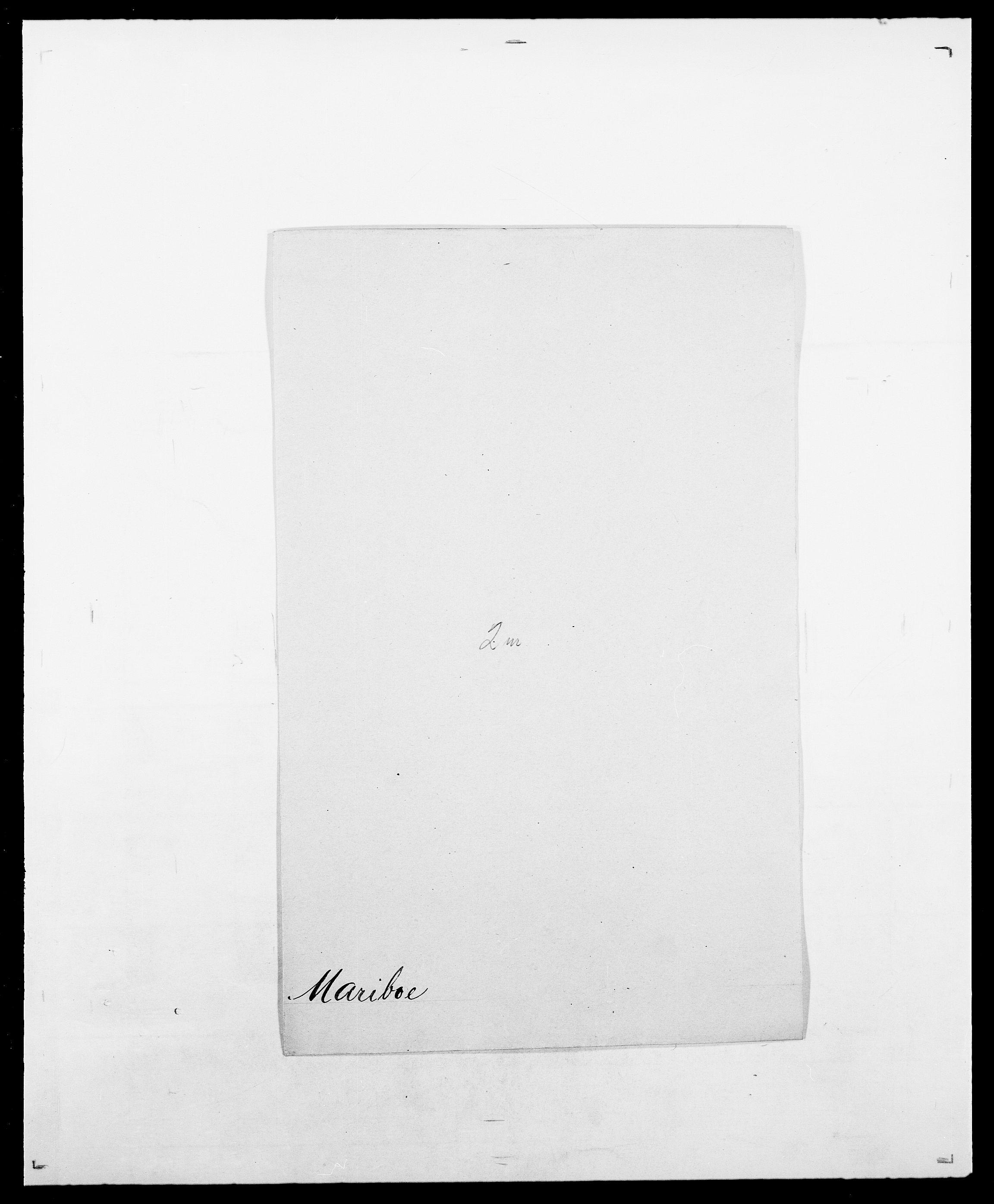 SAO, Delgobe, Charles Antoine - samling, D/Da/L0025: Løberg - Mazar, s. 353