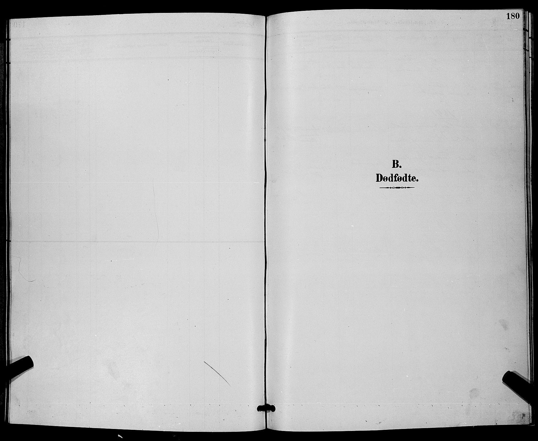 SAKO, Bamble kirkebøker, G/Ga/L0009: Klokkerbok nr. I 9, 1888-1900, s. 180