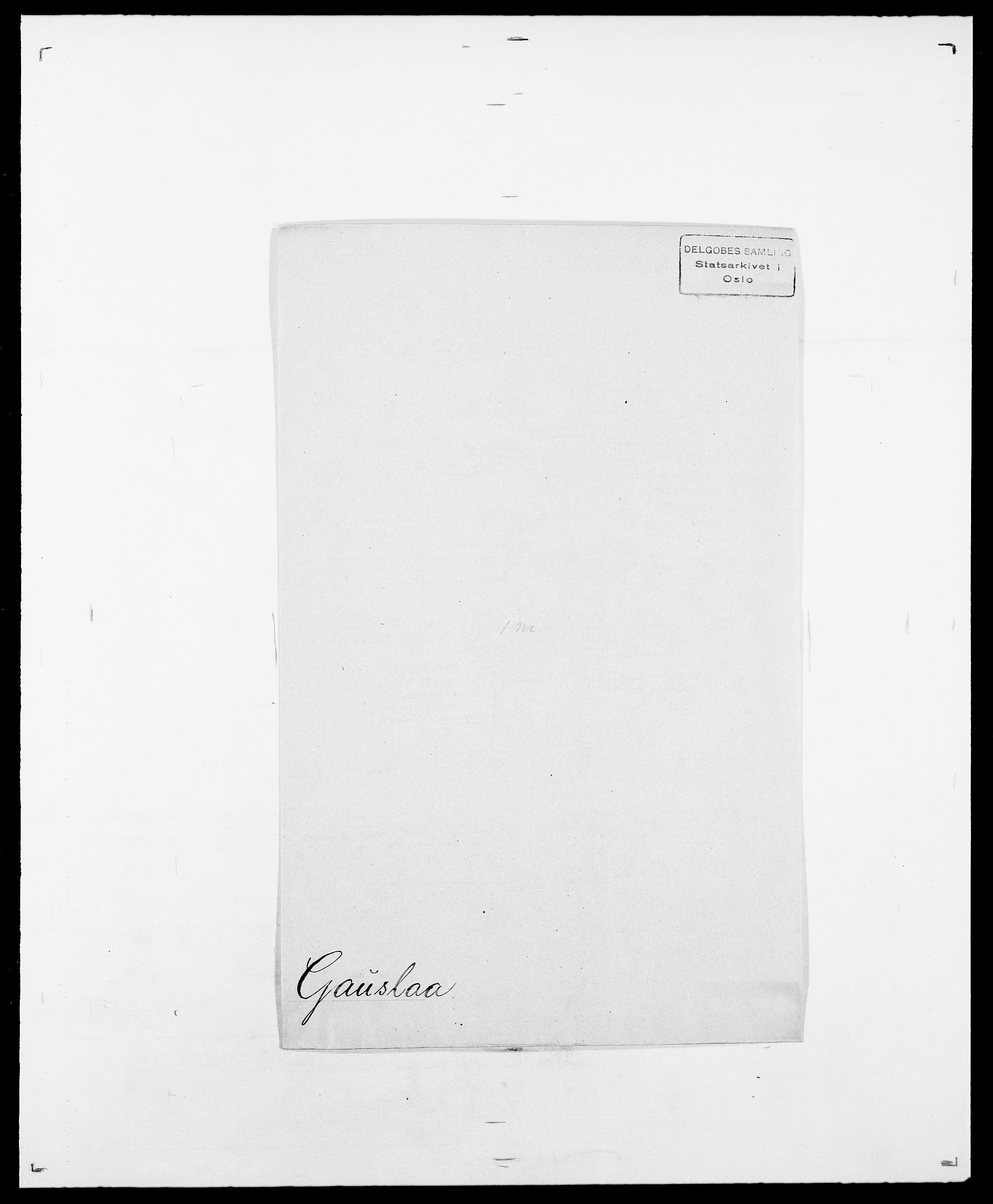 SAO, Delgobe, Charles Antoine - samling, D/Da/L0013: Forbos - Geving, s. 546