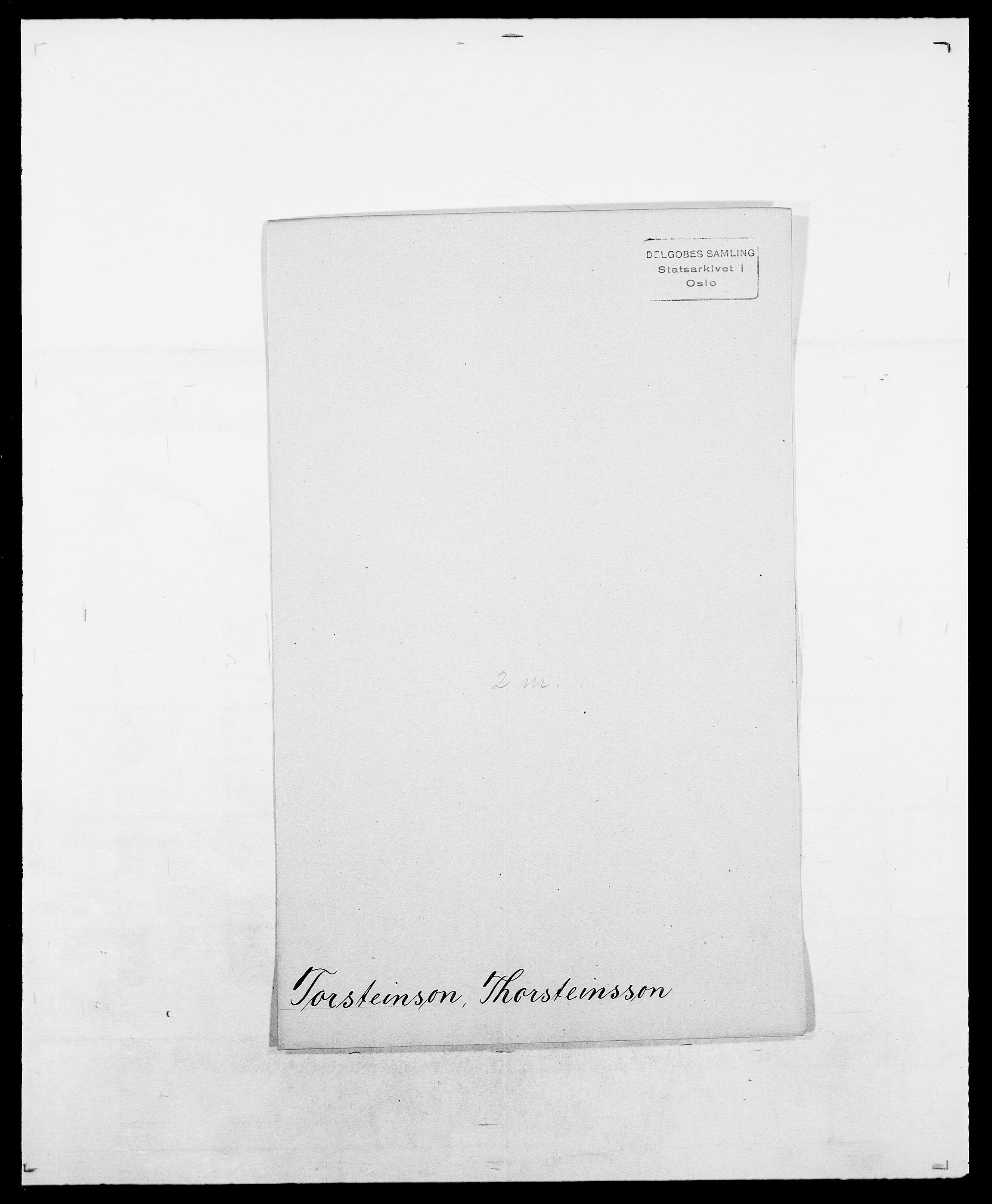SAO, Delgobe, Charles Antoine - samling, D/Da/L0039: Thorsen - Urup, s. 265