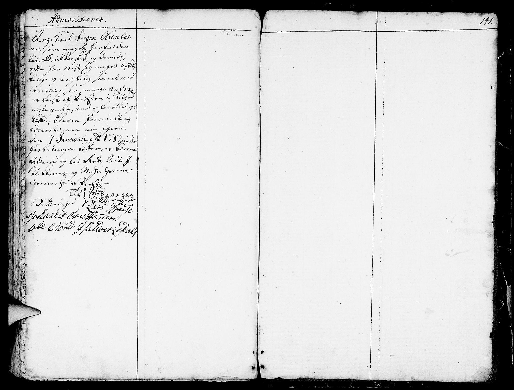 SAB, Eid Sokneprestembete, H/Haa: Ministerialbok nr. A 3, 1770-1805, s. 141