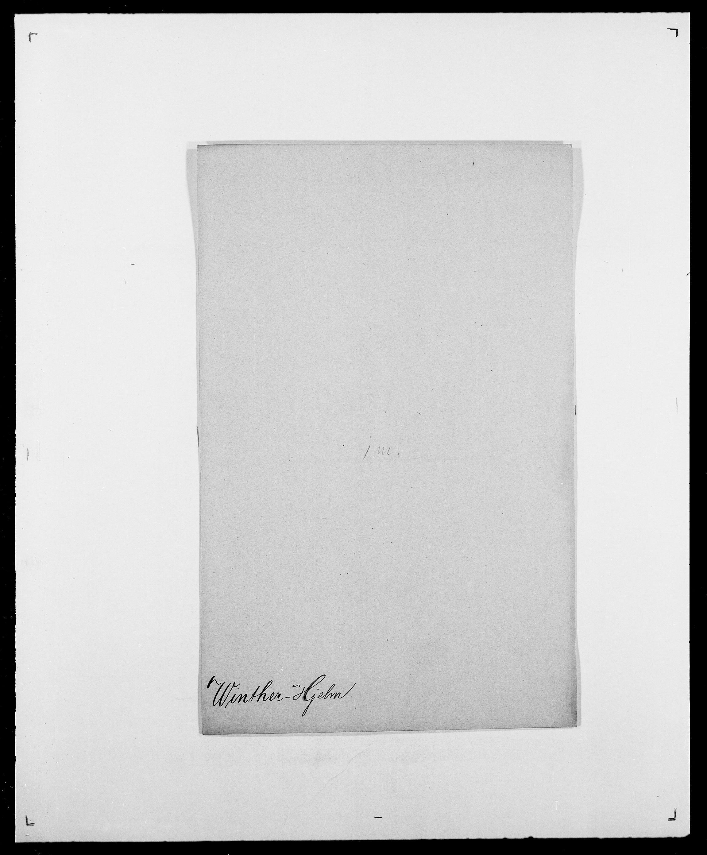 SAO, Delgobe, Charles Antoine - samling, D/Da/L0042: Vilain - Wulf, Wulff, se også Wolf, s. 368