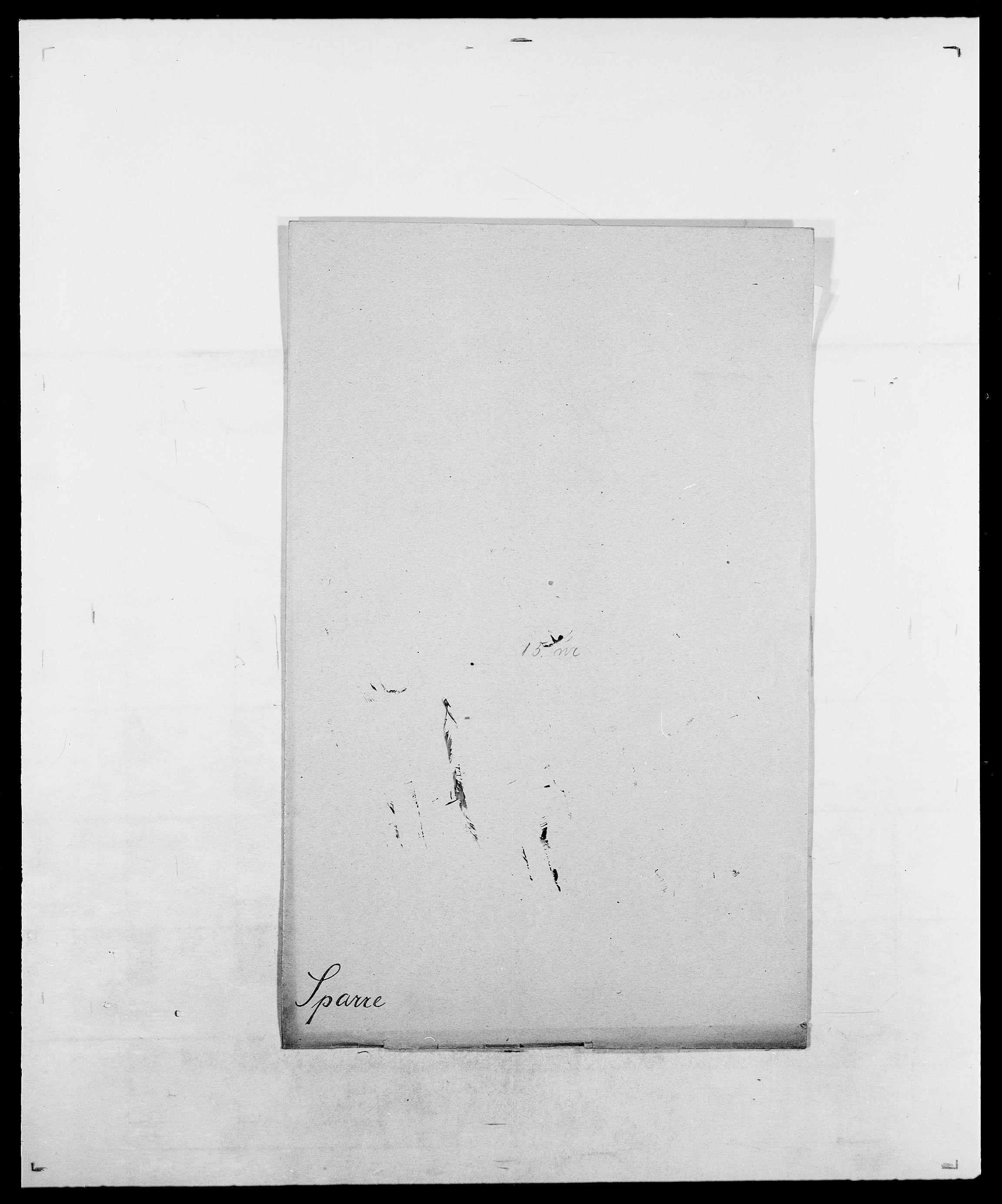 SAO, Delgobe, Charles Antoine - samling, D/Da/L0036: Skaanør - Staverskov, s. 502