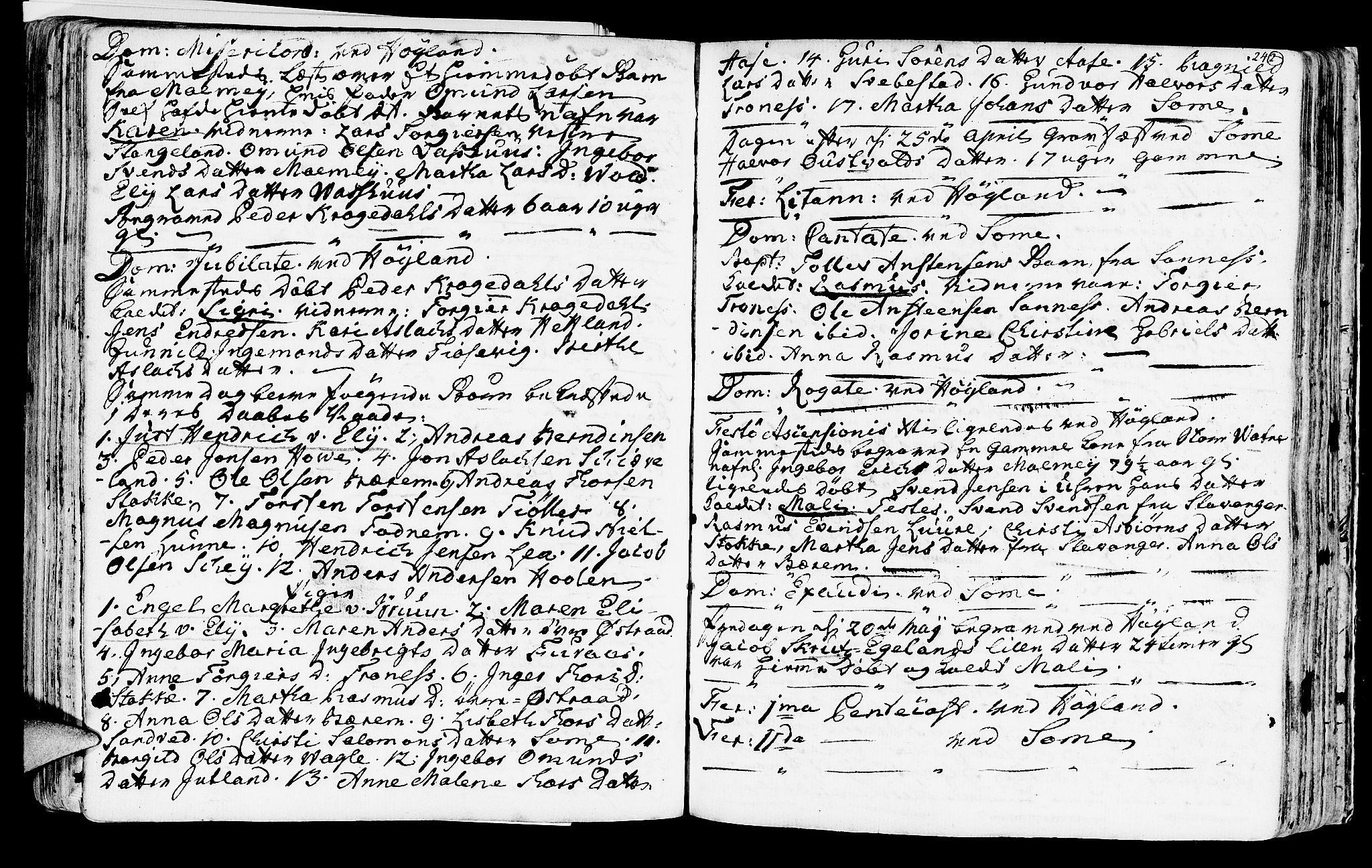 SAST, Høyland sokneprestkontor, 30BA/L0003: Ministerialbok nr. A 3, 1753-1783