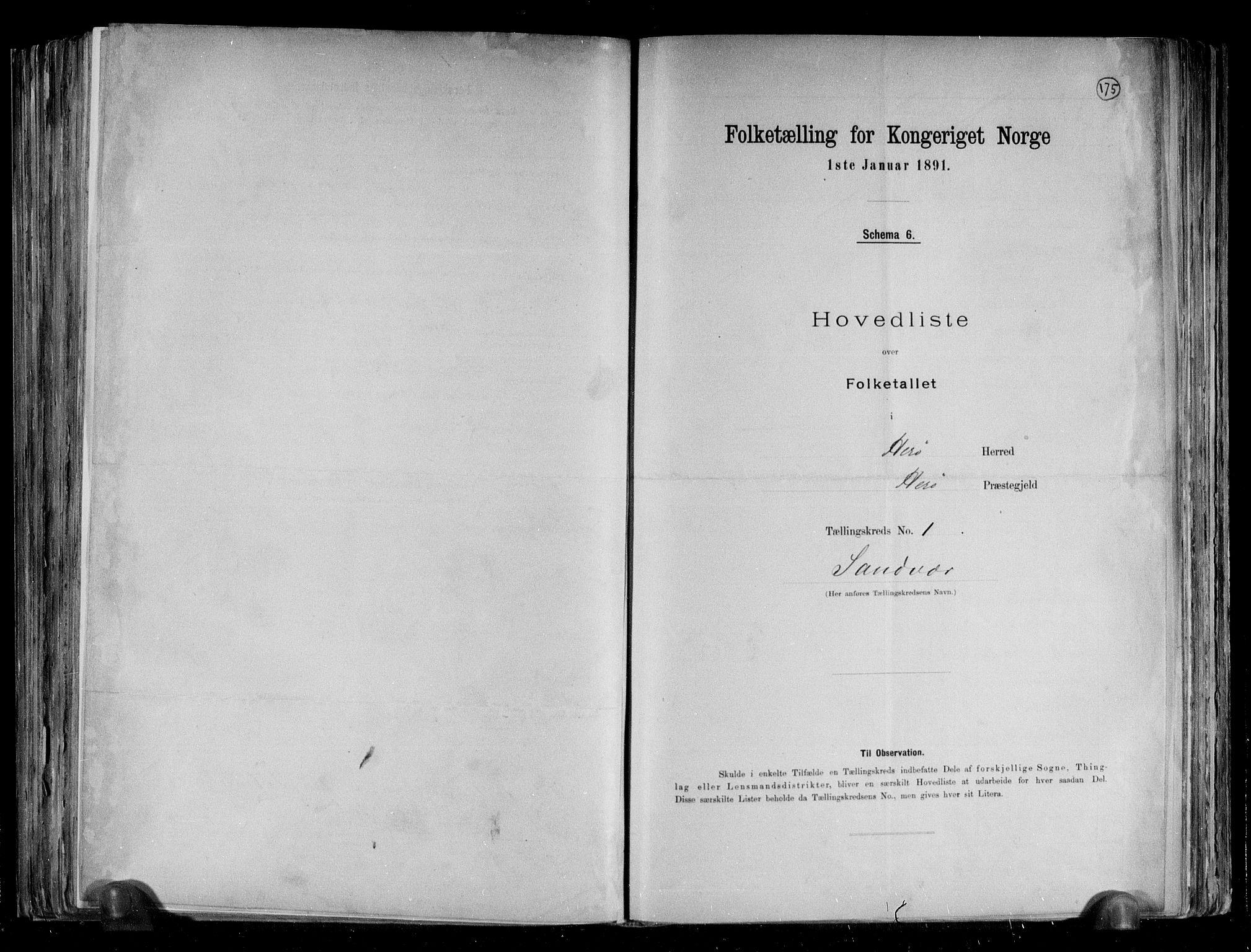 RA, Folketelling 1891 for 1818 Herøy herred, 1891, s. 4