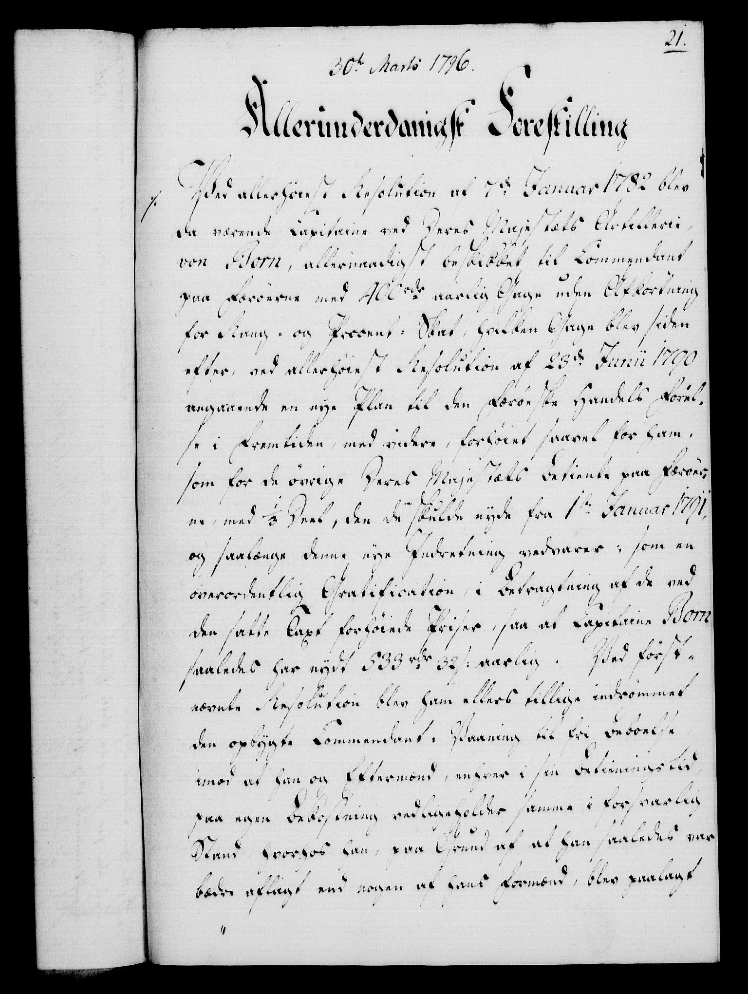 RA, Rentekammeret, Kammerkanselliet, G/Gf/Gfa/L0078: Norsk relasjons- og resolusjonsprotokoll (merket RK 52.78), 1796, s. 124