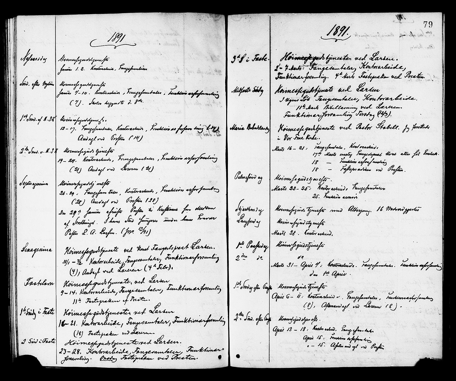 SAT, Ministerialprotokoller, klokkerbøker og fødselsregistre - Sør-Trøndelag, 624/L0482: Ministerialbok nr. 624A03, 1870-1918, s. 79