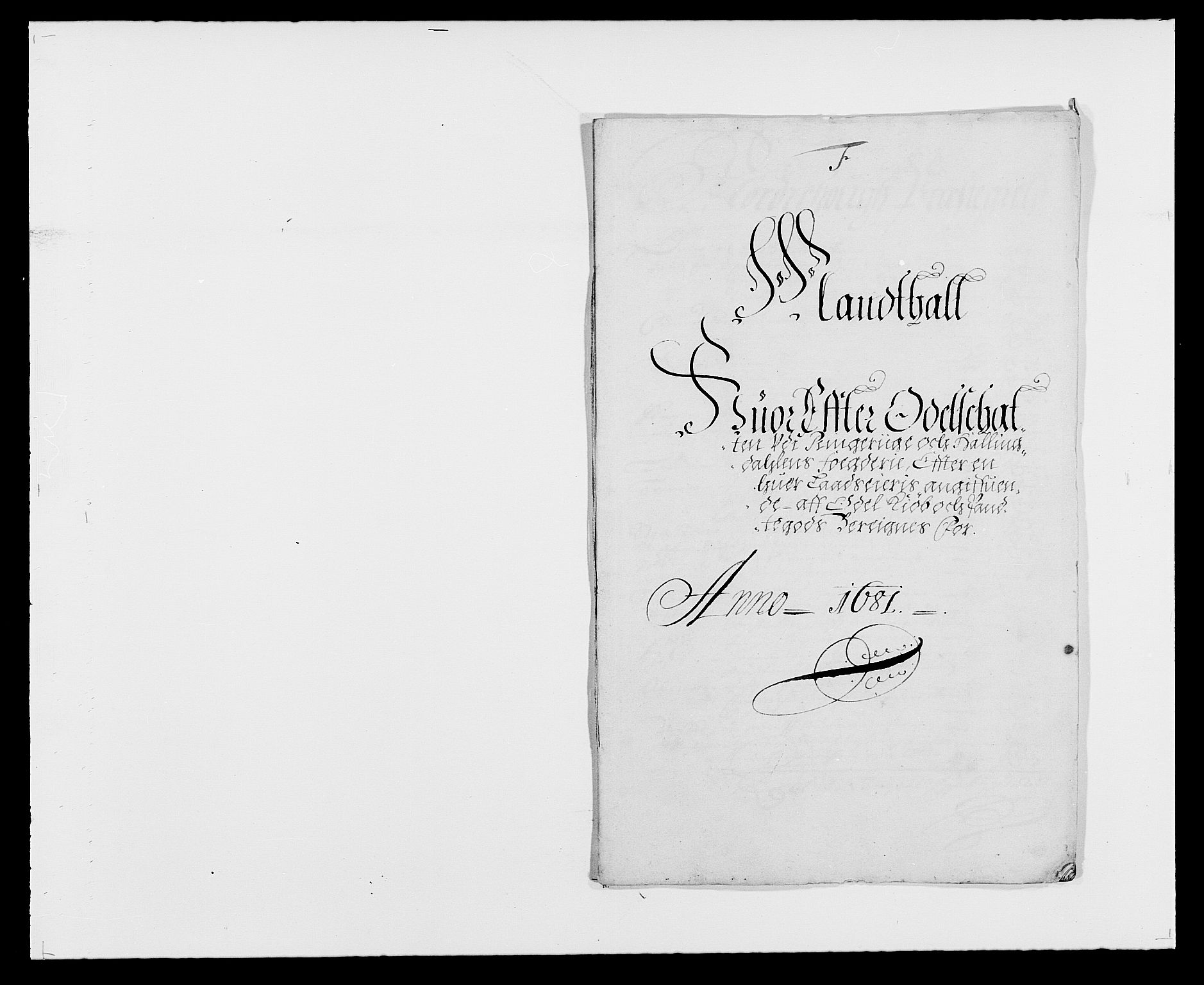RA, Rentekammeret inntil 1814, Reviderte regnskaper, Fogderegnskap, R21/L1445: Fogderegnskap Ringerike og Hallingdal, 1681-1689, s. 164