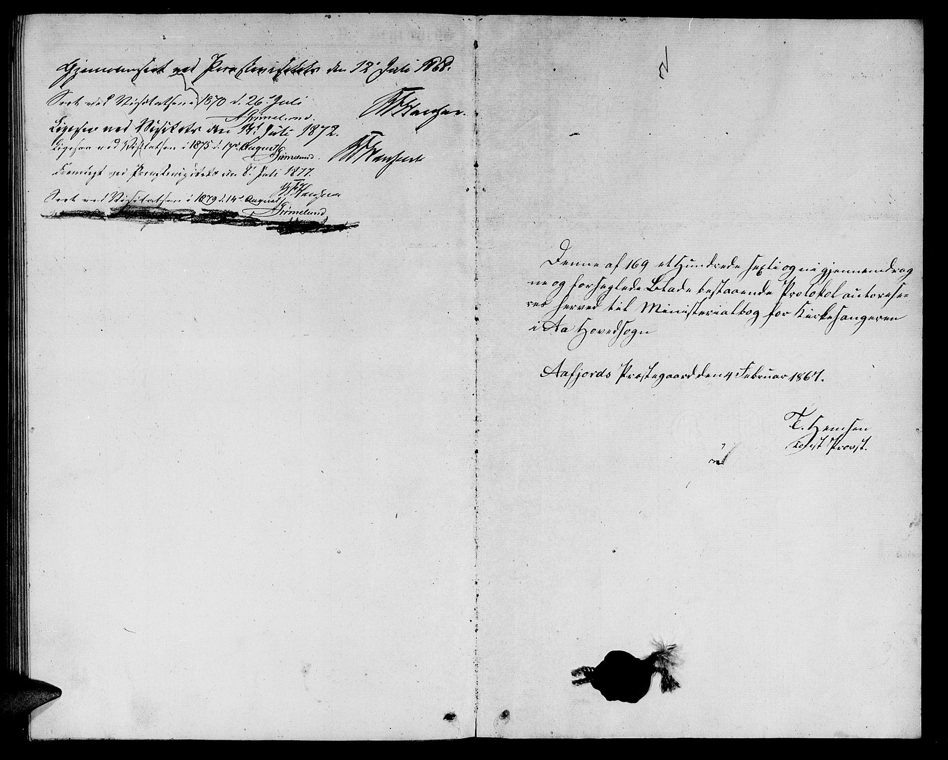 SAT, Ministerialprotokoller, klokkerbøker og fødselsregistre - Sør-Trøndelag, 655/L0686: Klokkerbok nr. 655C02, 1866-1879