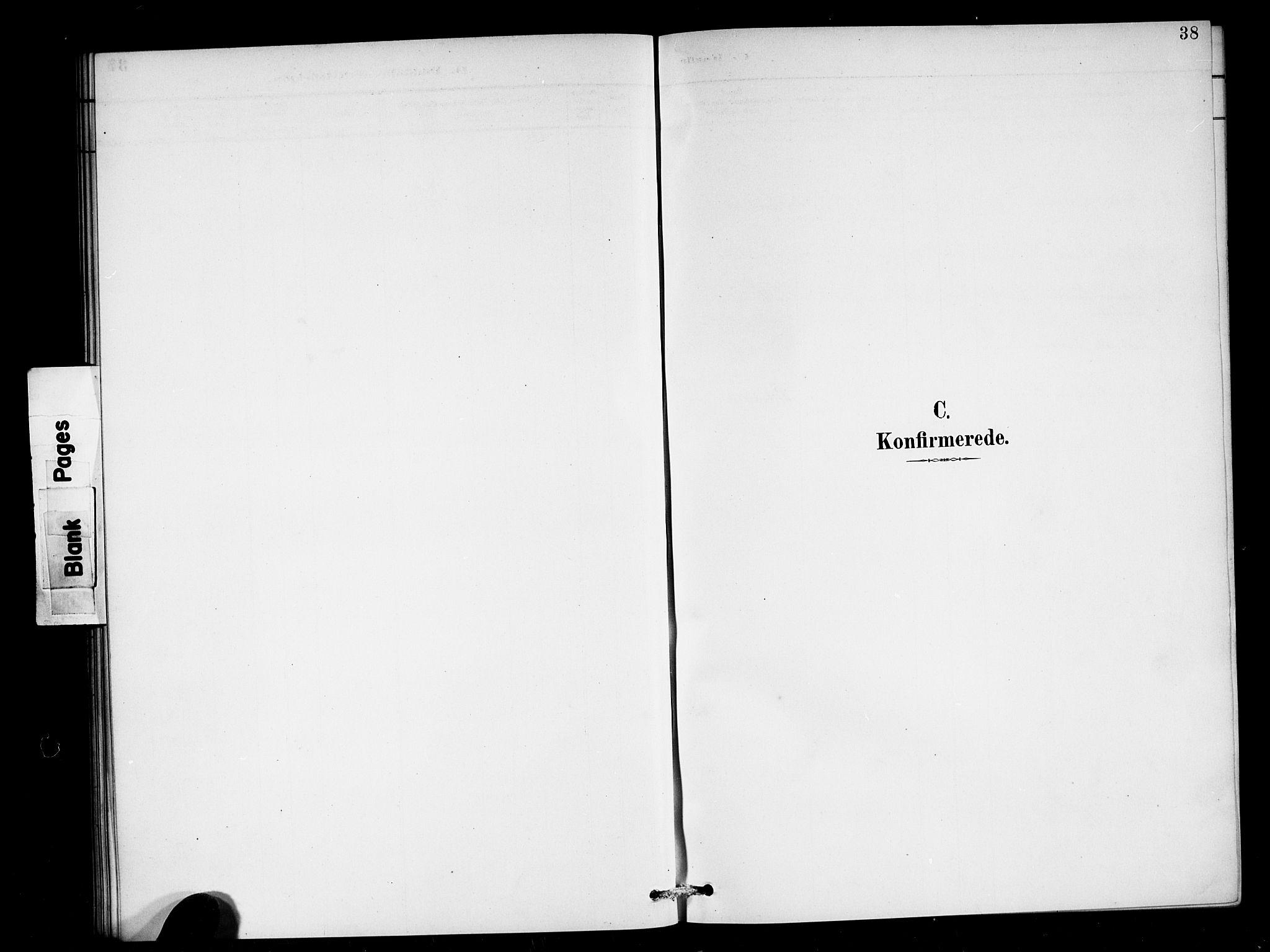 SAB, Den Norske Sjømannsmisjon i utlandet*, Ministerialbok nr. A 2, 1887-1898, s. 38