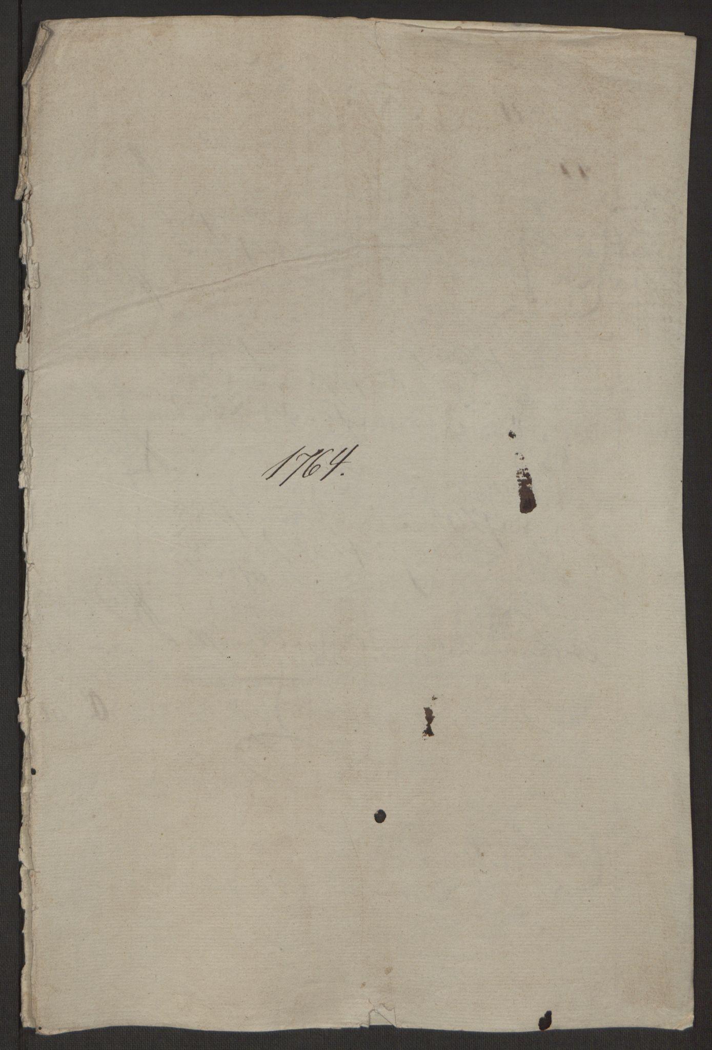 RA, Rentekammeret inntil 1814, Reviderte regnskaper, Byregnskaper, R/Rr/L0495: [R1] Kontribusjonsregnskap, 1762-1772, s. 30