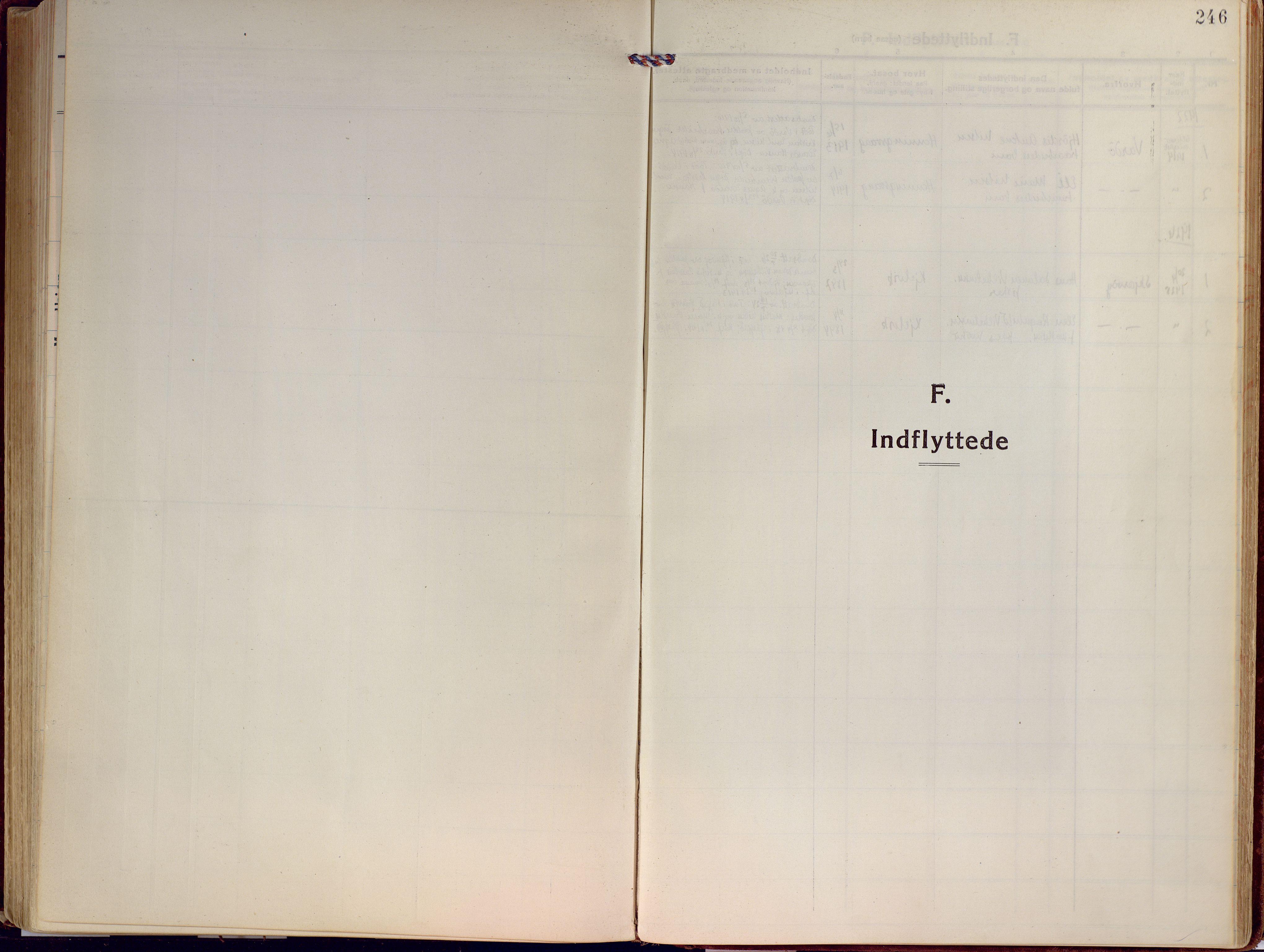 SATØ, Kjelvik/Nordkapp sokneprestkontor, H/Ha/L0002kirke: Ministerialbok nr. 2, 1920-1929, s. 246