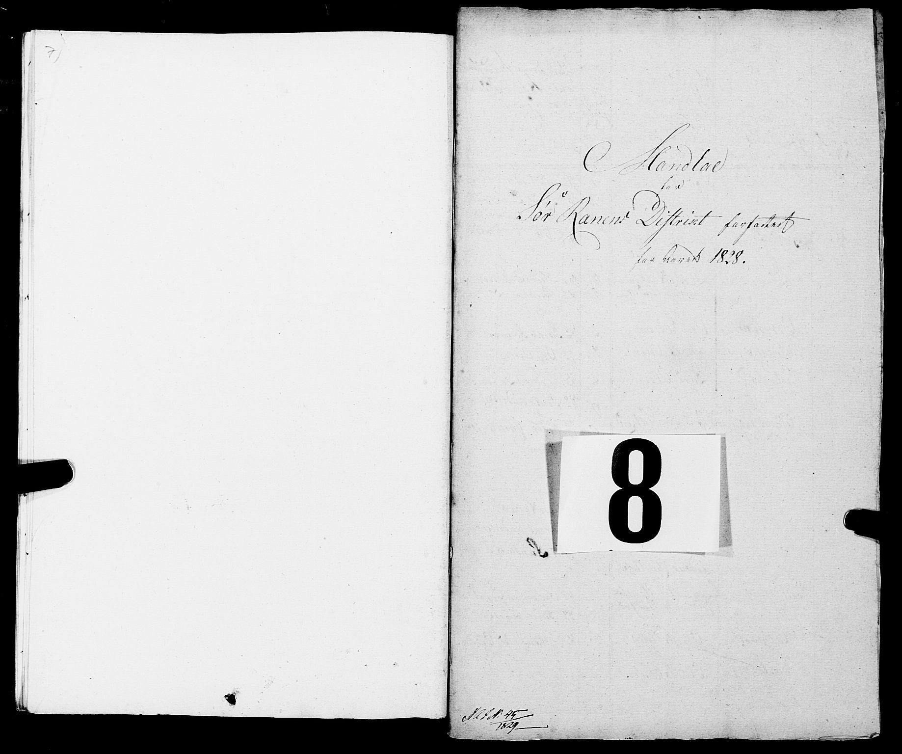 SAT, Fylkesmannen i Nordland, R/RA/L0013: Innrulleringsmanntall for Hemnes (Sør-Rana), 1809-1835, s. 191
