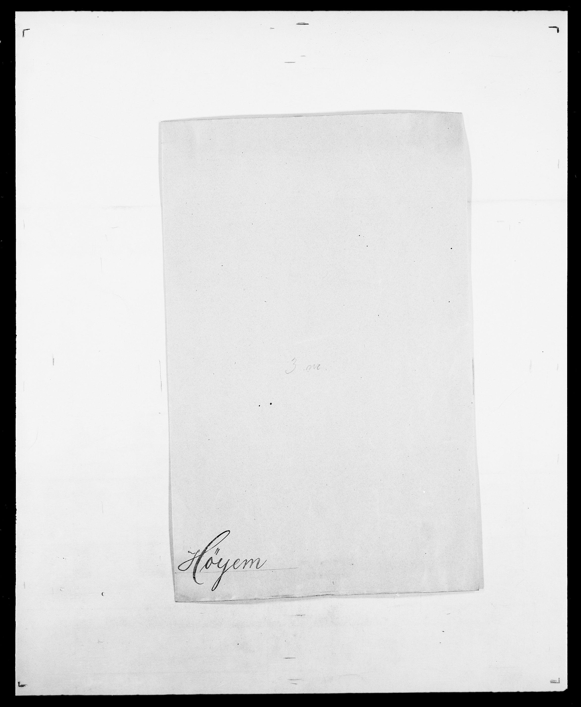 SAO, Delgobe, Charles Antoine - samling, D/Da/L0019: van der Hude - Joys, s. 410