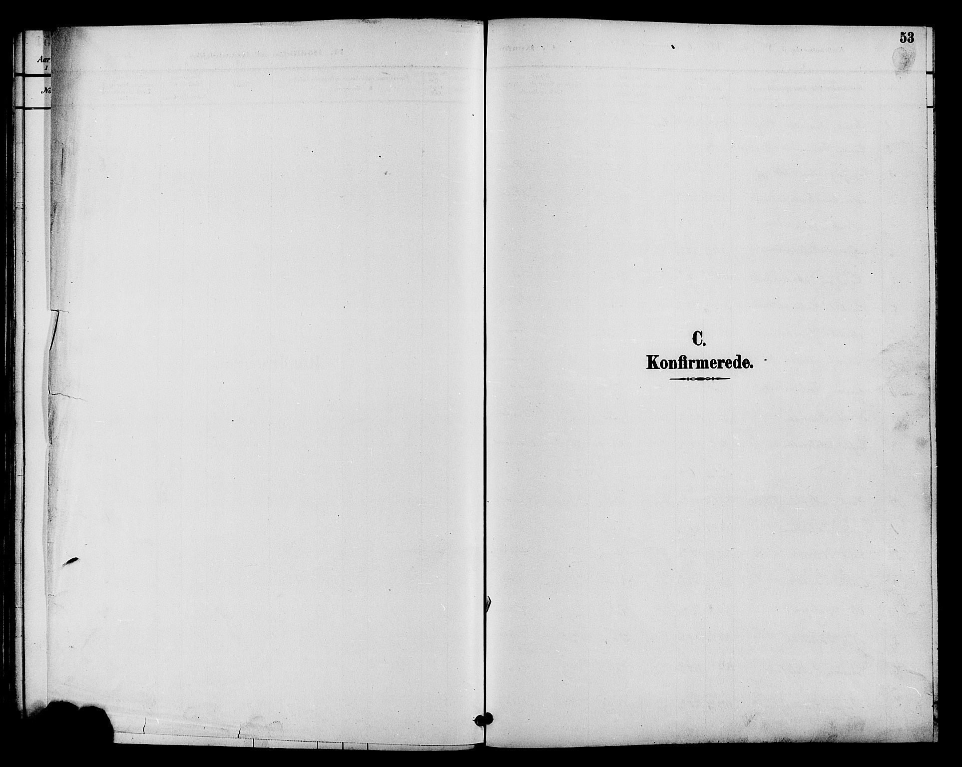 SAH, Øystre Slidre prestekontor, Klokkerbok nr. 4, 1887-1907, s. 53