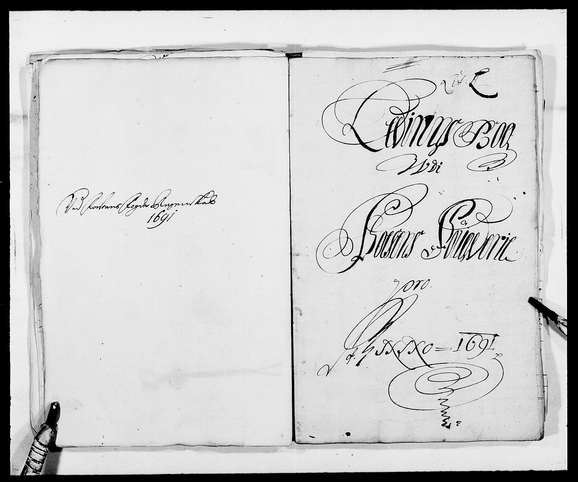 RA, Rentekammeret inntil 1814, Reviderte regnskaper, Fogderegnskap, R57/L3848: Fogderegnskap Fosen, 1690-1691, s. 315