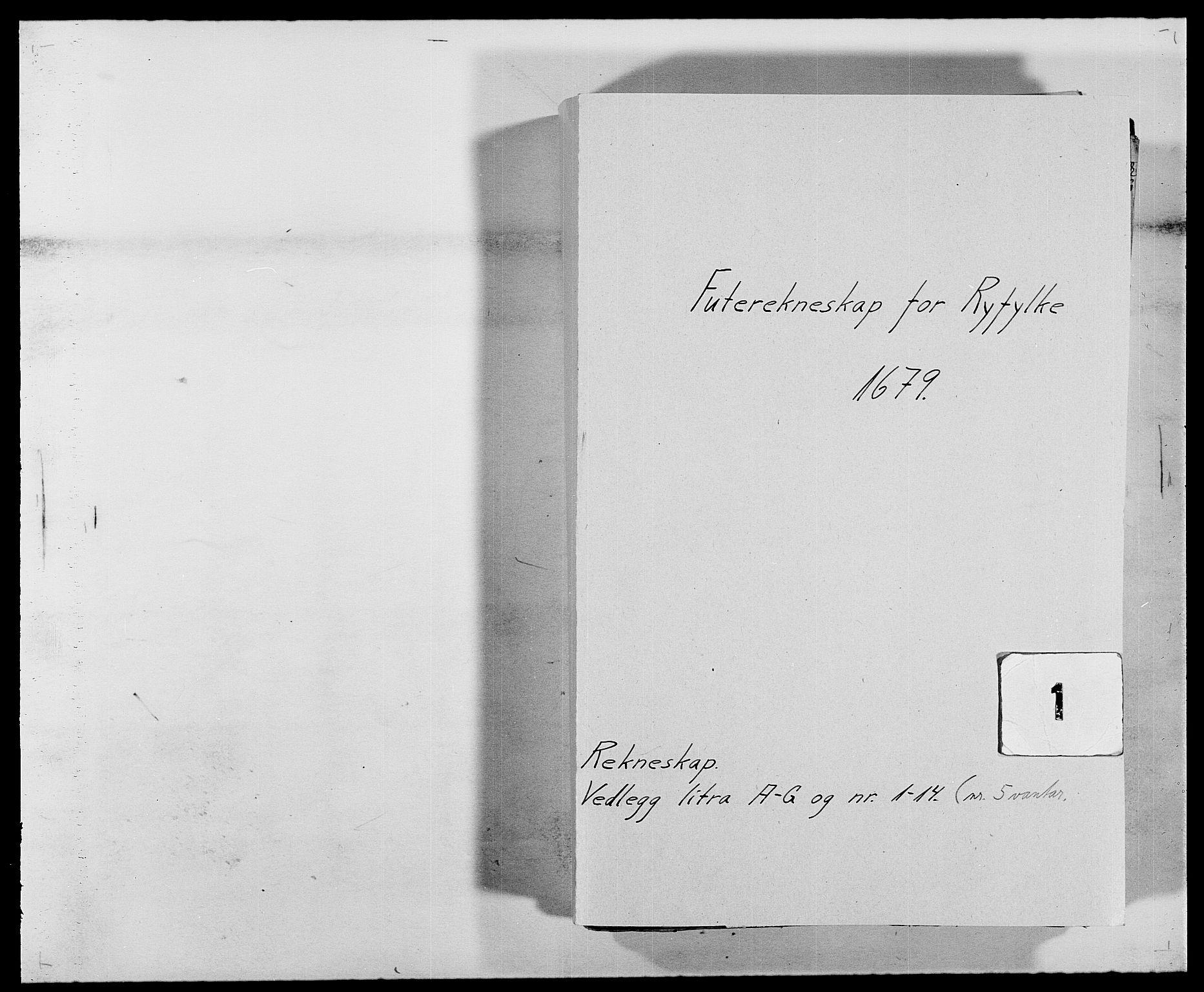 RA, Rentekammeret inntil 1814, Reviderte regnskaper, Fogderegnskap, R47/L2849: Fogderegnskap Ryfylke, 1679, s. 1