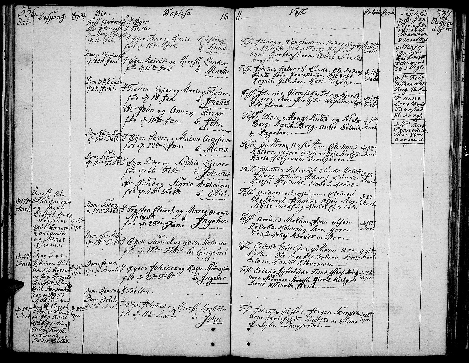 SAH, Øyer prestekontor, Ministerialbok nr. 3, 1784-1824, s. 336-337