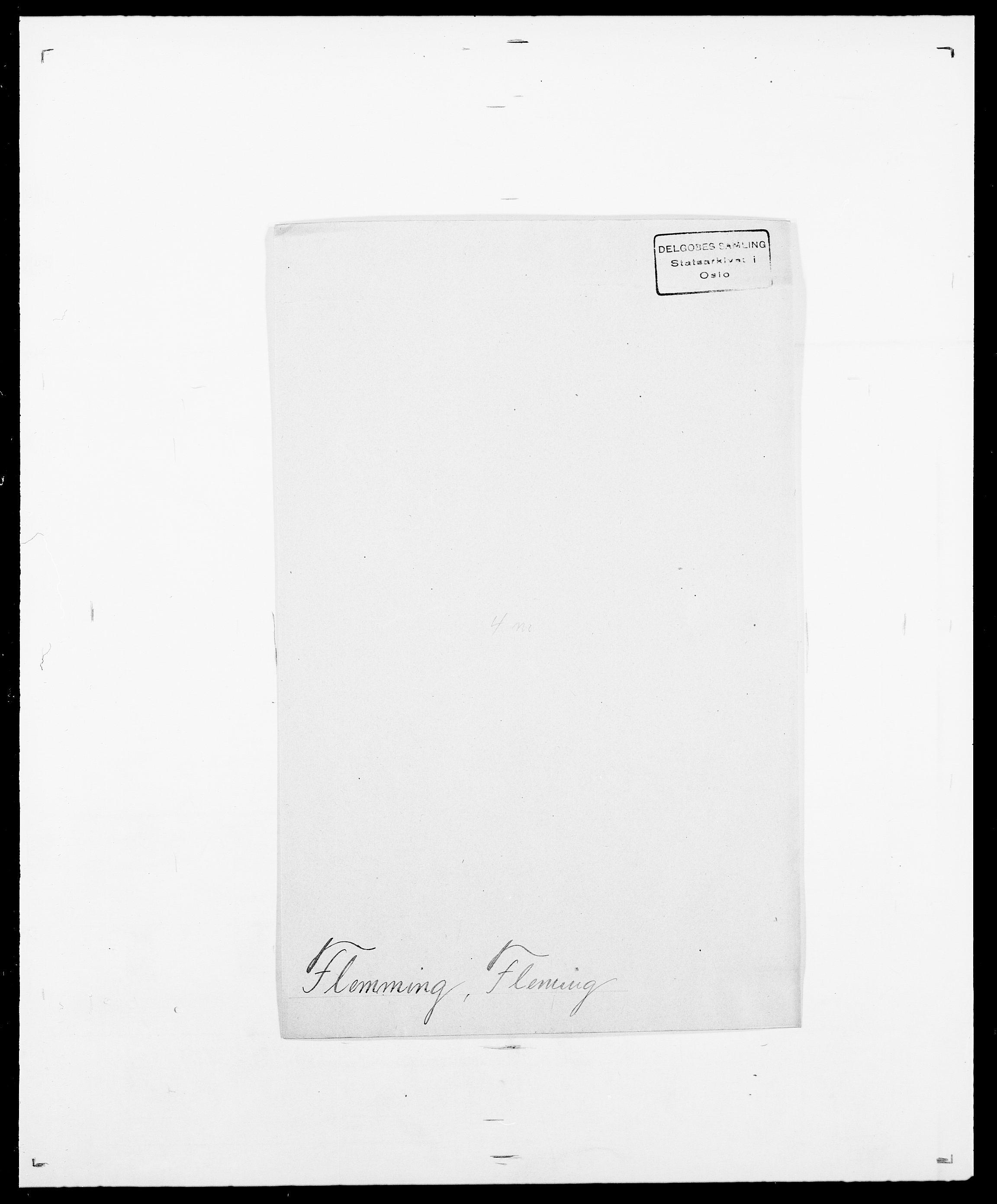 SAO, Delgobe, Charles Antoine - samling, D/Da/L0011: Fahlander - Flood, Flod, s. 618