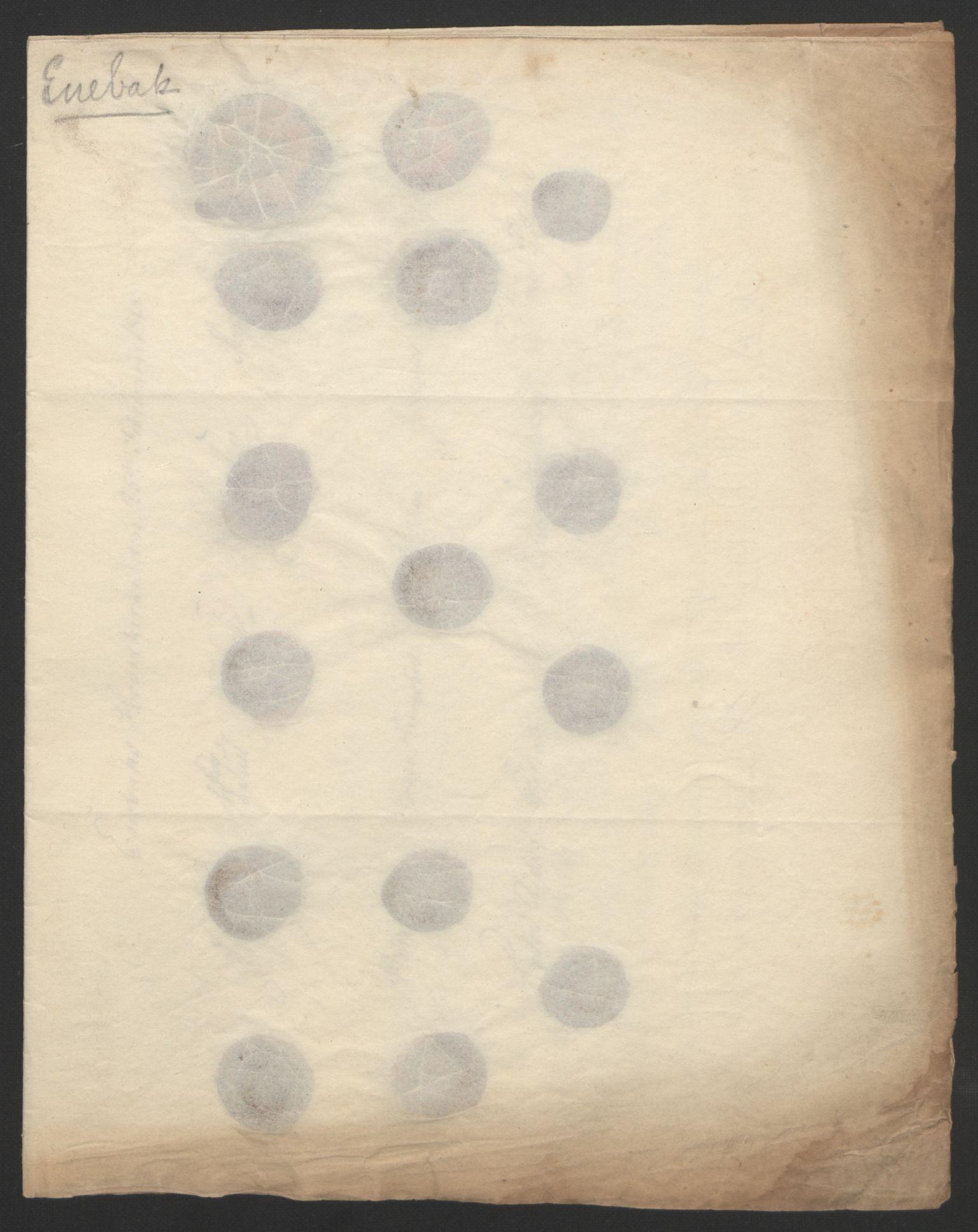 RA, Statsrådssekretariatet, D/Db/L0007: Fullmakter for Eidsvollsrepresentantene i 1814. , 1814, s. 180