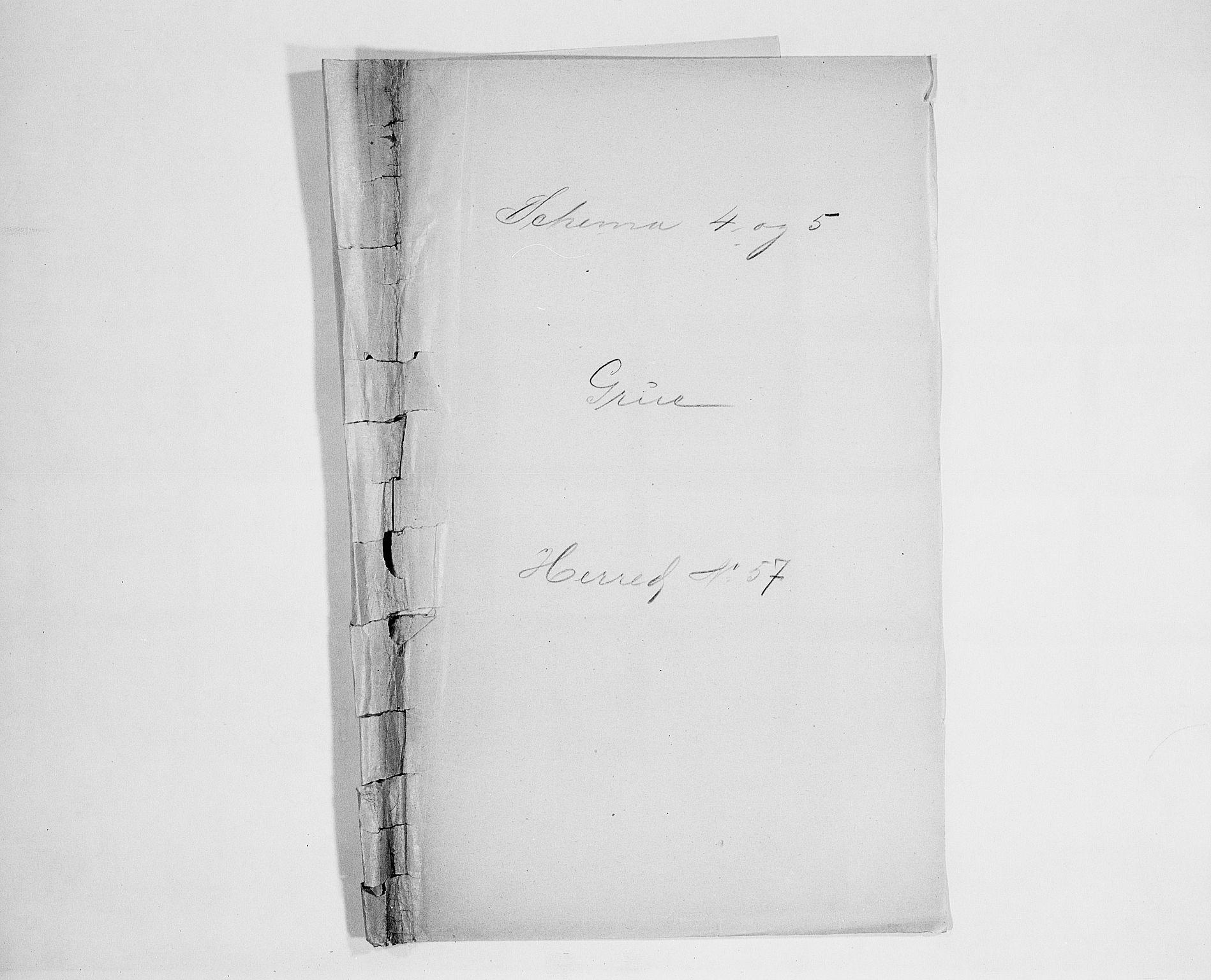 SAH, Folketelling 1900 for 0423 Grue herred, 1900, s. 1
