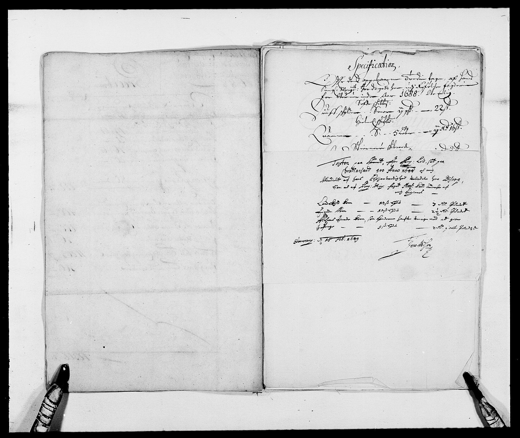 RA, Rentekammeret inntil 1814, Reviderte regnskaper, Fogderegnskap, R47/L2855: Fogderegnskap Ryfylke, 1685-1688, s. 337