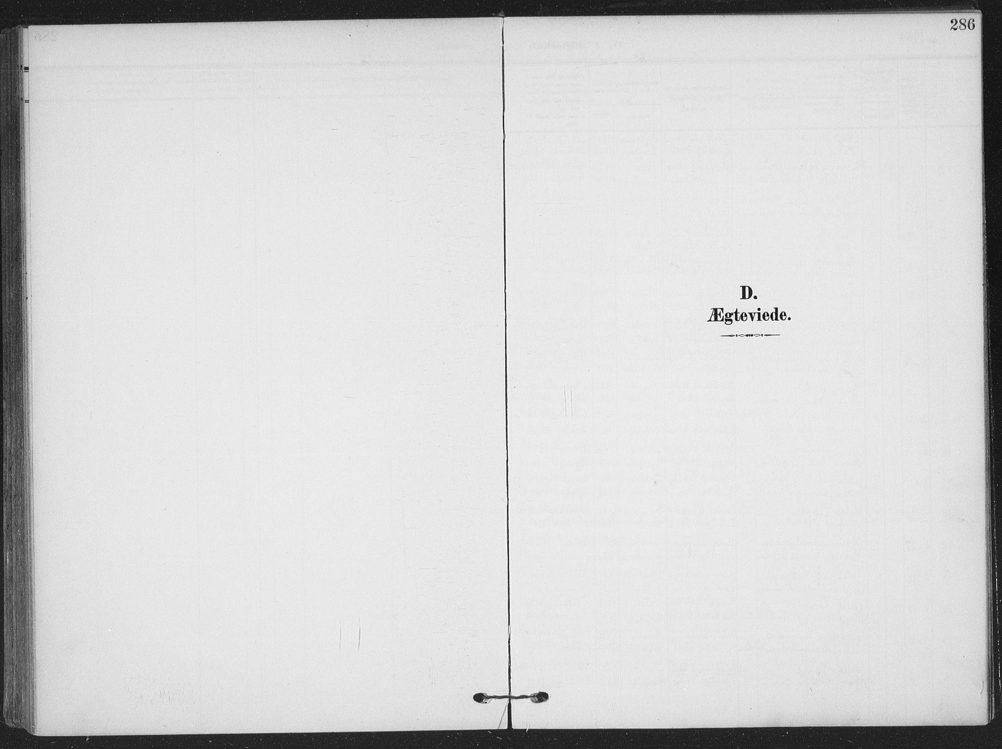 SAKO, Skien kirkebøker, F/Fa/L0012: Ministerialbok nr. 12, 1908-1914, s. 286