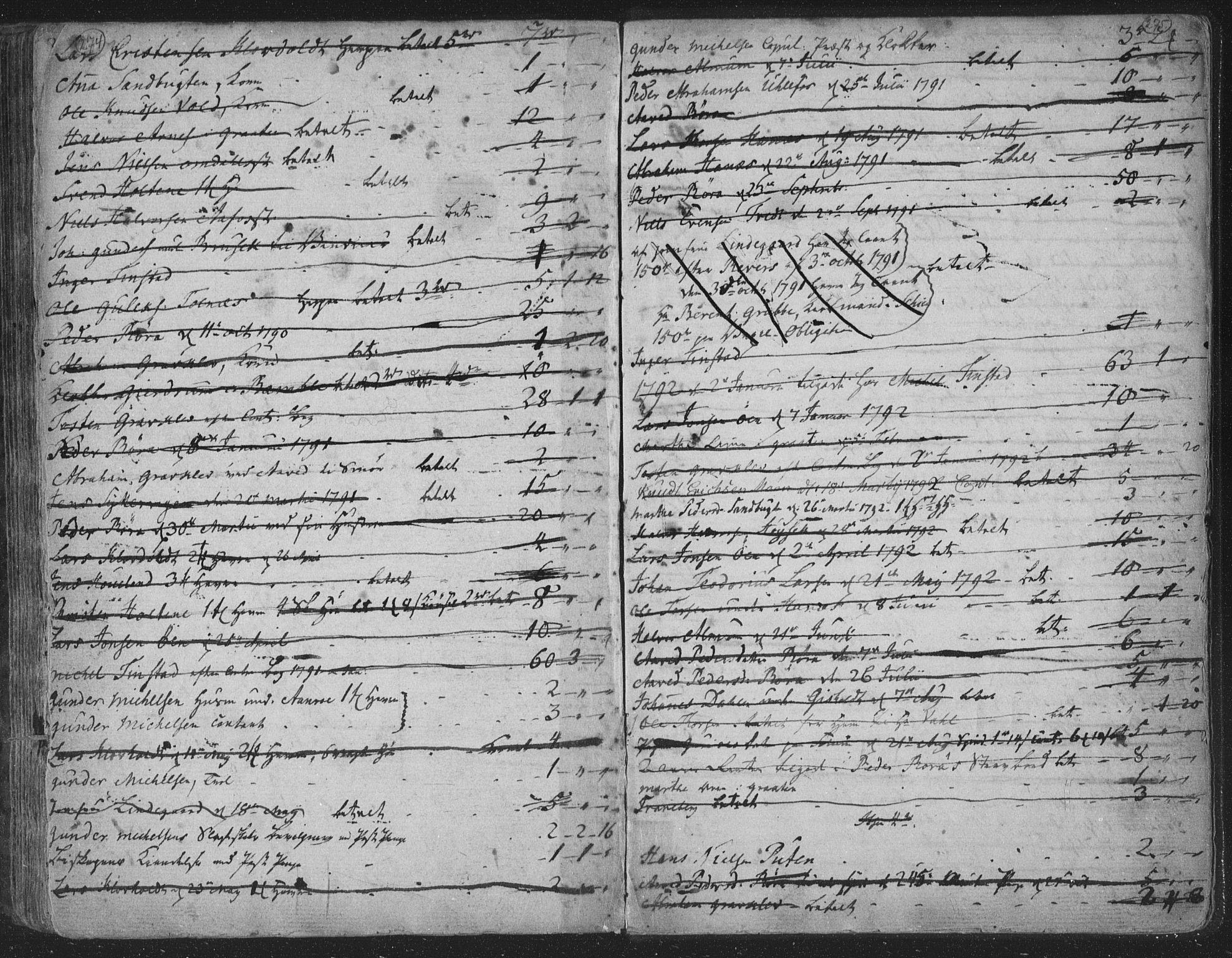 SAKO, Solum kirkebøker, F/Fa/L0003: Ministerialbok nr. I 3, 1761-1814, s. 274-275