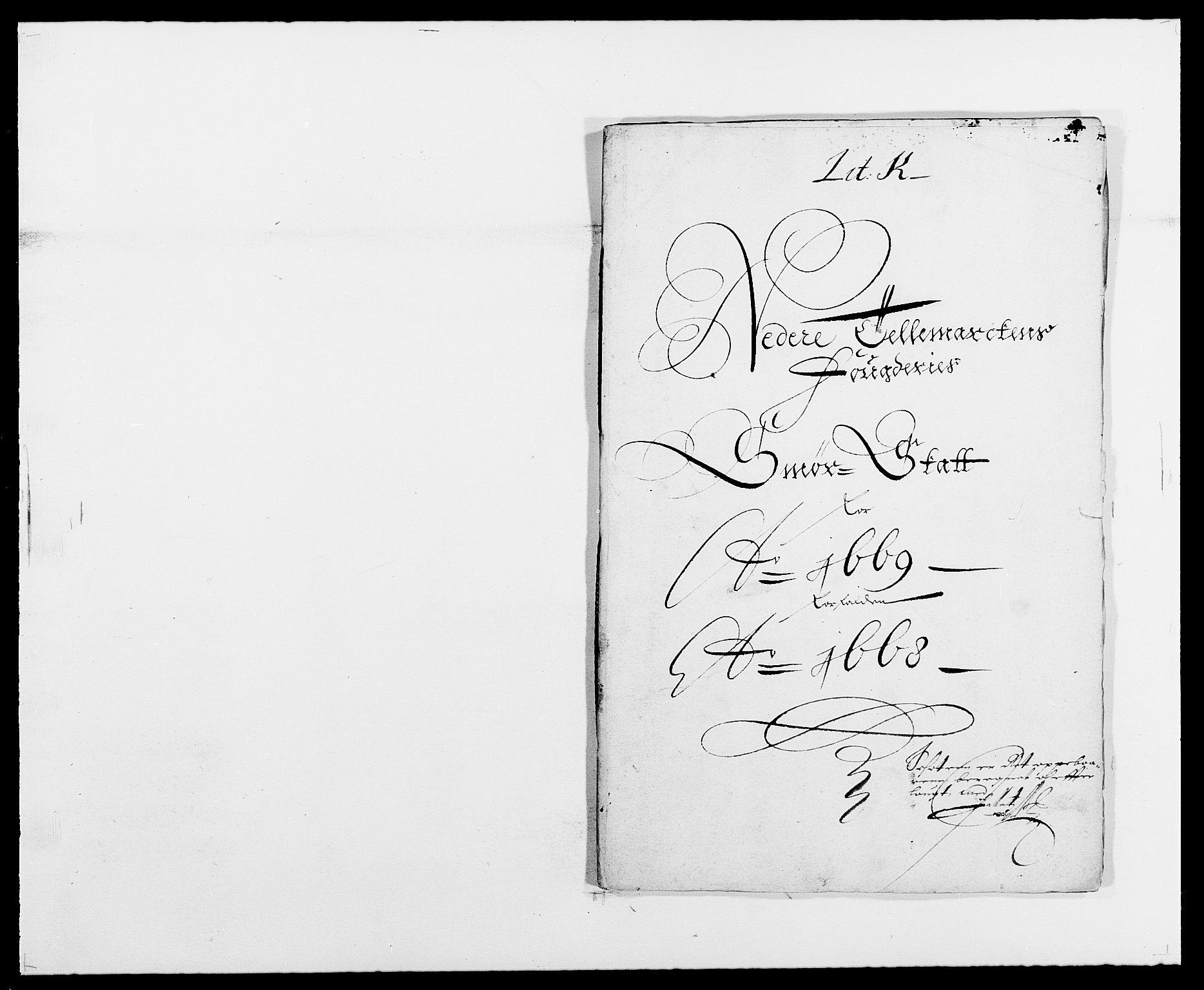 RA, Rentekammeret inntil 1814, Reviderte regnskaper, Fogderegnskap, R35/L2058: Fogderegnskap Øvre og Nedre Telemark, 1668-1670, s. 196