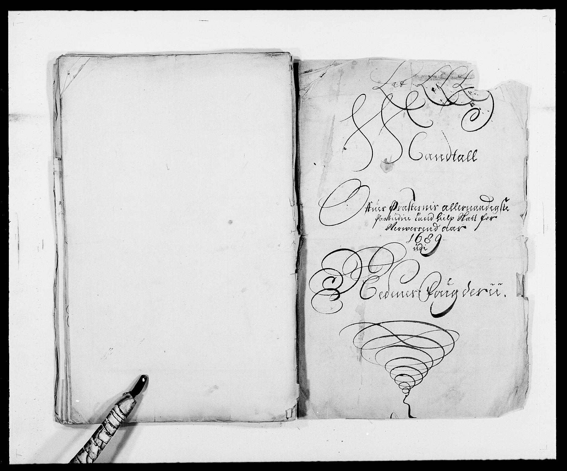 RA, Rentekammeret inntil 1814, Reviderte regnskaper, Fogderegnskap, R39/L2309: Fogderegnskap Nedenes, 1684-1689, s. 386
