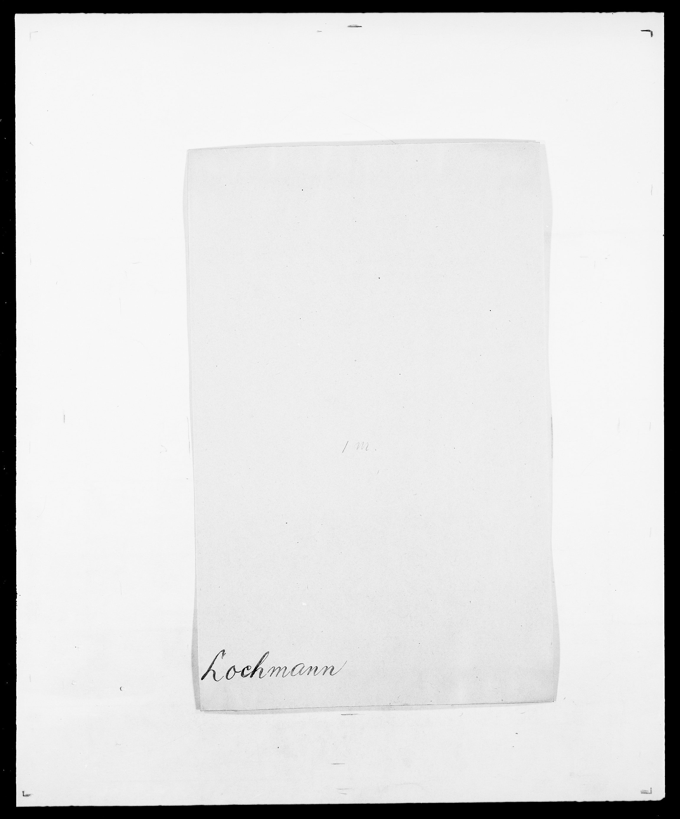 SAO, Delgobe, Charles Antoine - samling, D/Da/L0024: Lobech - Lærum, s. 23
