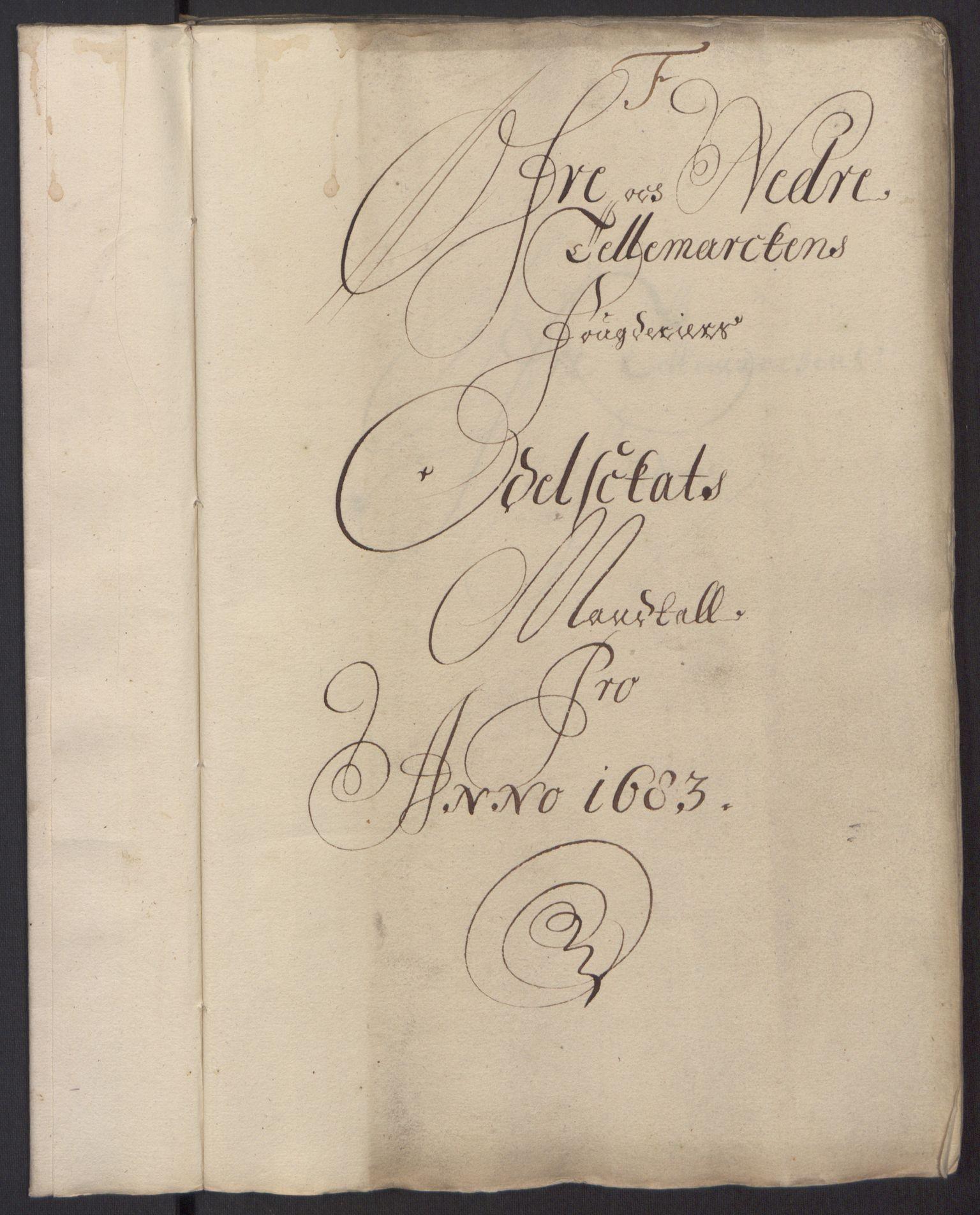 RA, Rentekammeret inntil 1814, Reviderte regnskaper, Fogderegnskap, R35/L2080: Fogderegnskap Øvre og Nedre Telemark, 1680-1684, s. 29