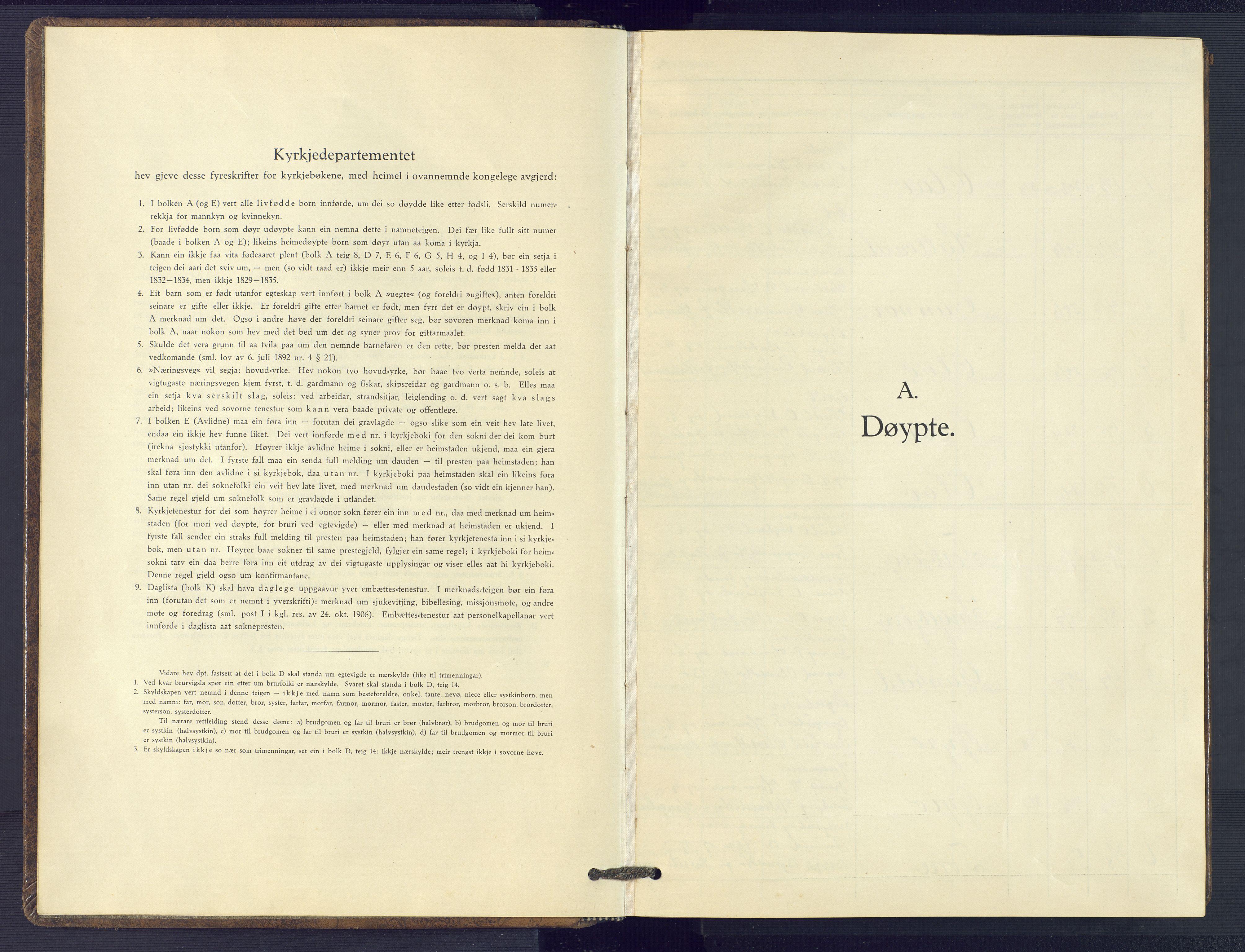 SAK, Valle sokneprestkontor, F/Fb/Fbc/L0005: Klokkerbok nr. B 5, 1929-1981