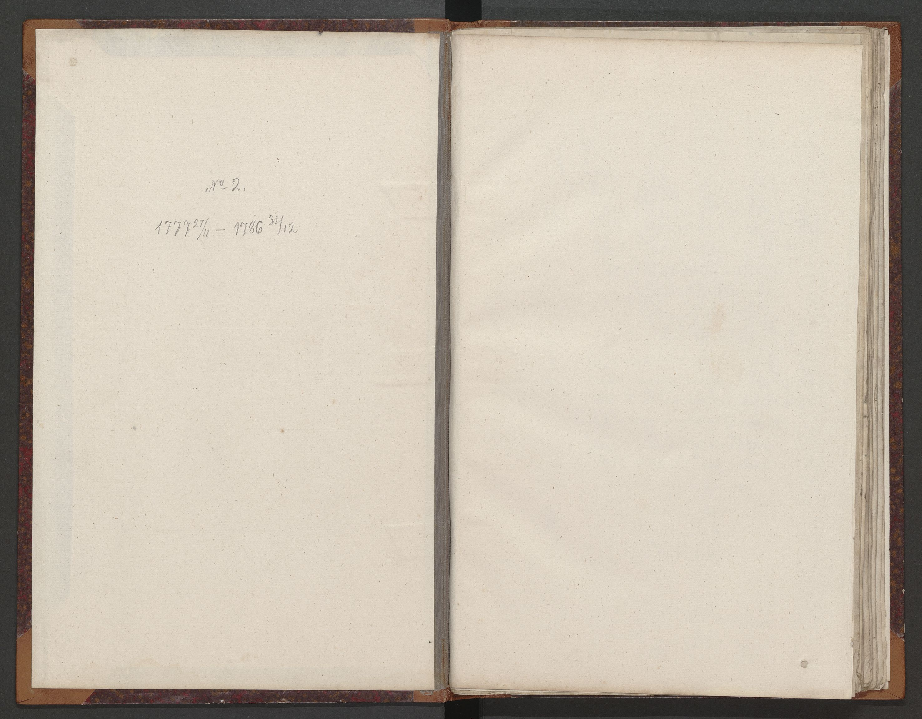 SAT, Kristiansund magistrat, K/L0002: Branntakstprotokoll, 1777-1786