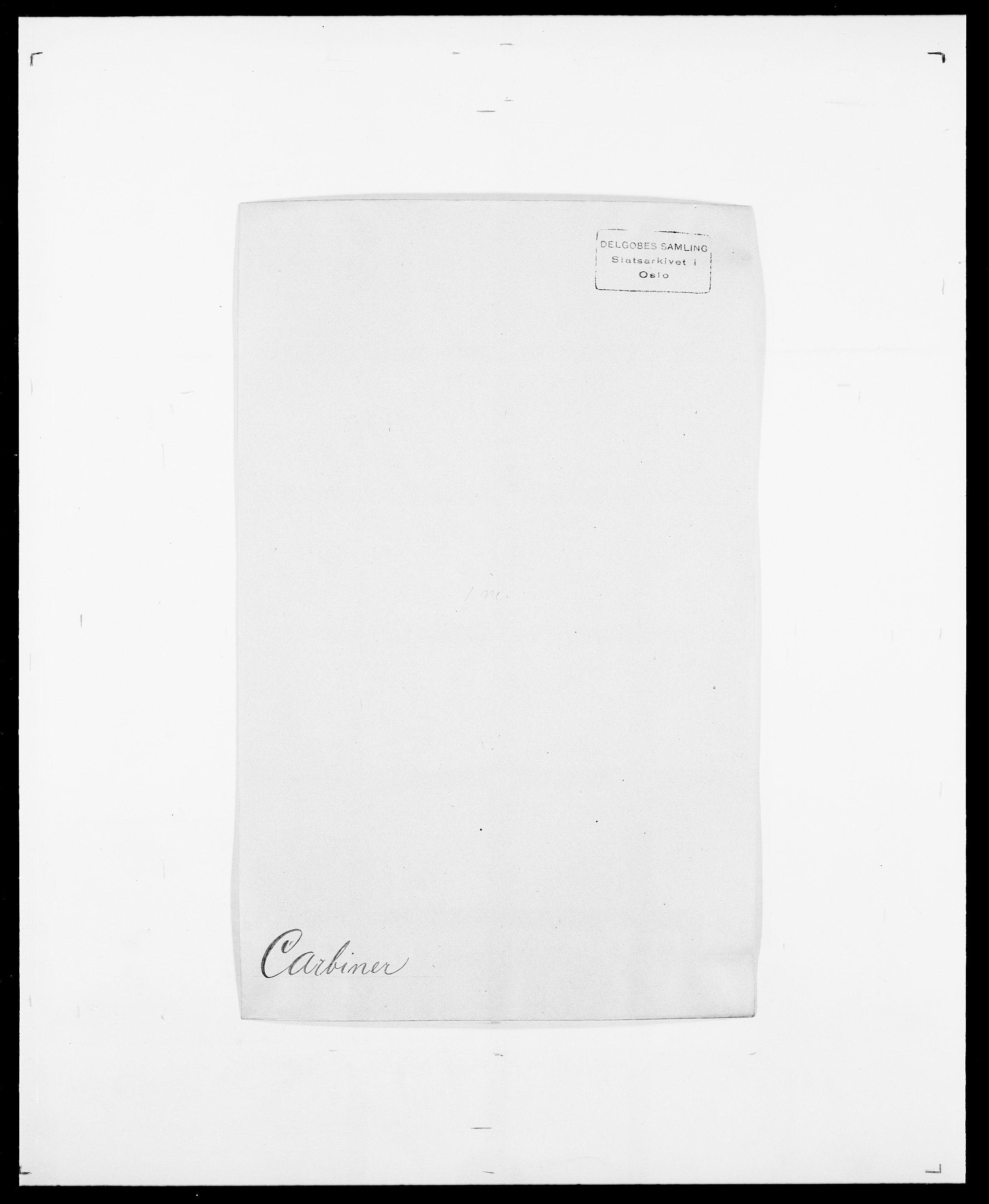 SAO, Delgobe, Charles Antoine - samling, D/Da/L0008: Capjon - Dagenbolt, s. 33