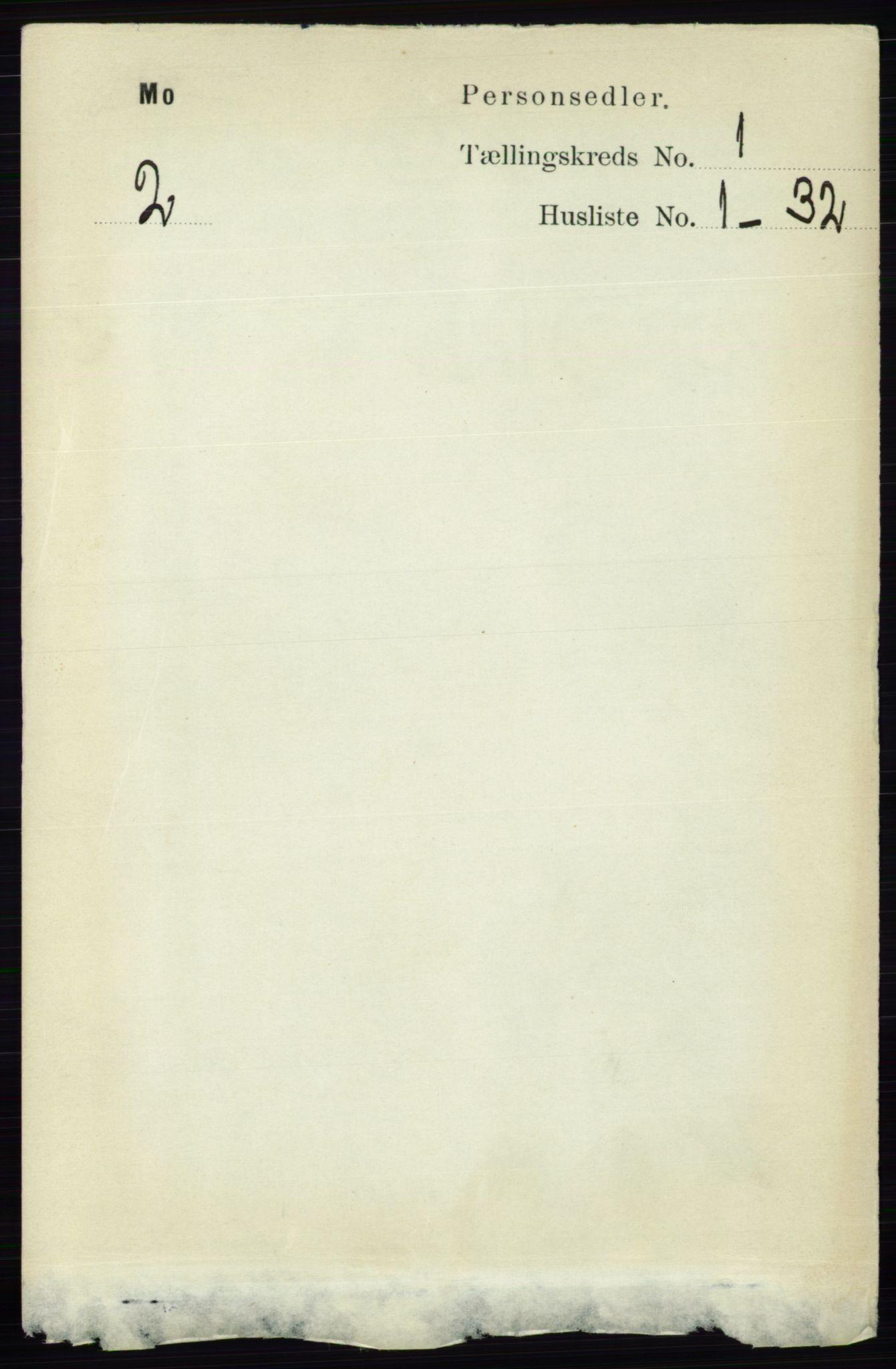 RA, Folketelling 1891 for 0832 Mo herred, 1891, s. 92