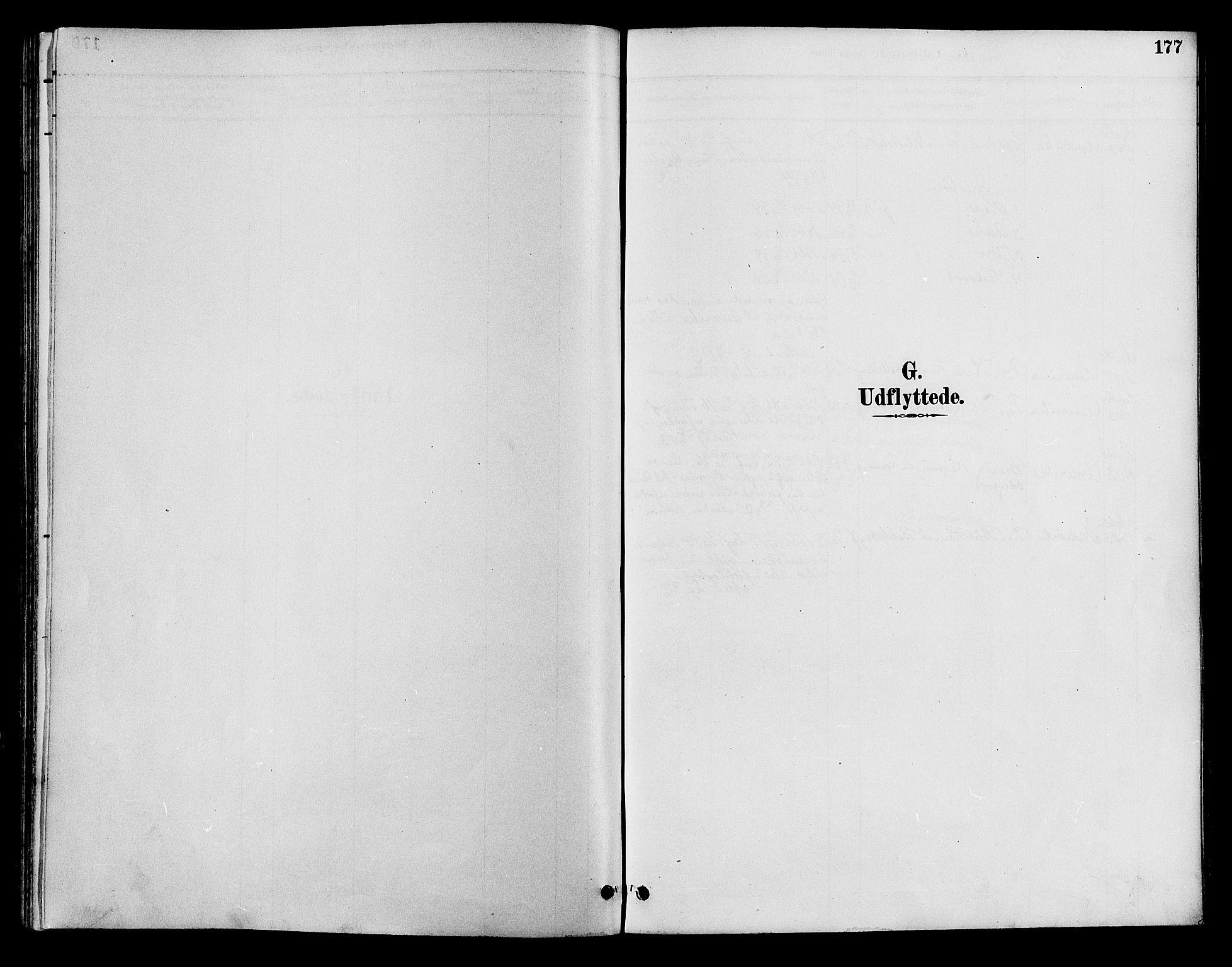 SAH, Lom prestekontor, K/L0008: Ministerialbok nr. 8, 1885-1898, s. 177