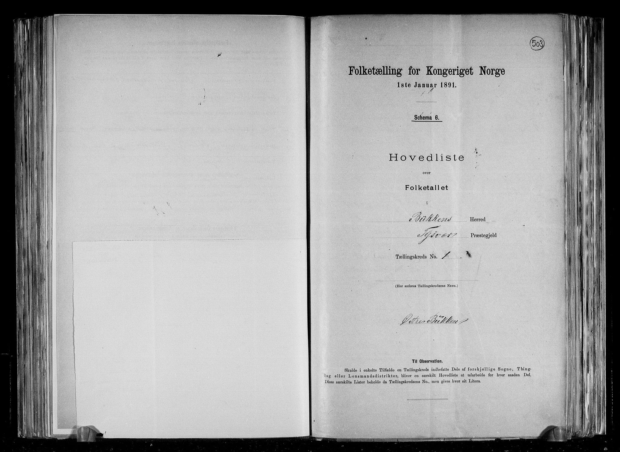 RA, Folketelling 1891 for 1145 Bokn herred, 1891, s. 5